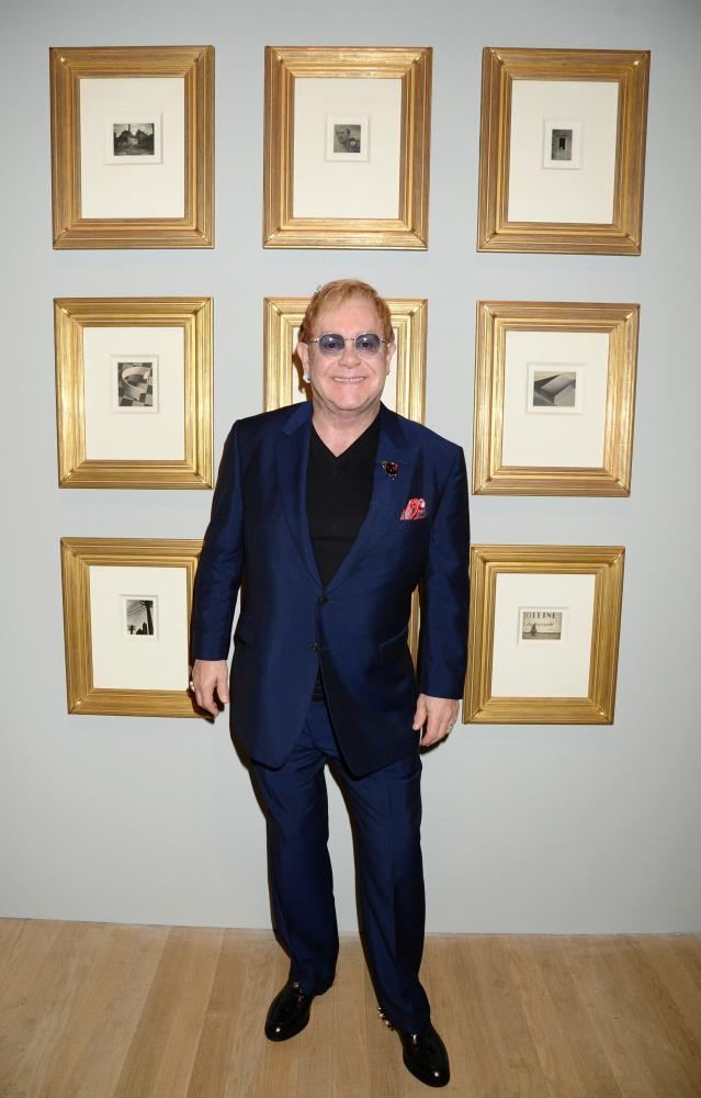 Sir Elton John at the Tate