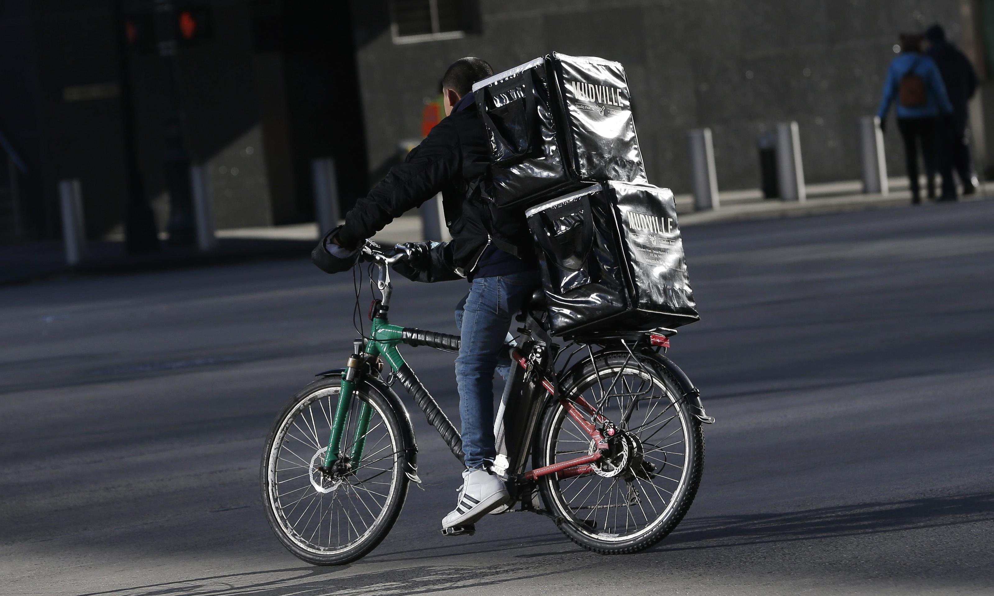 'It's persecution': New York City delivery workers fight electric bike ban
