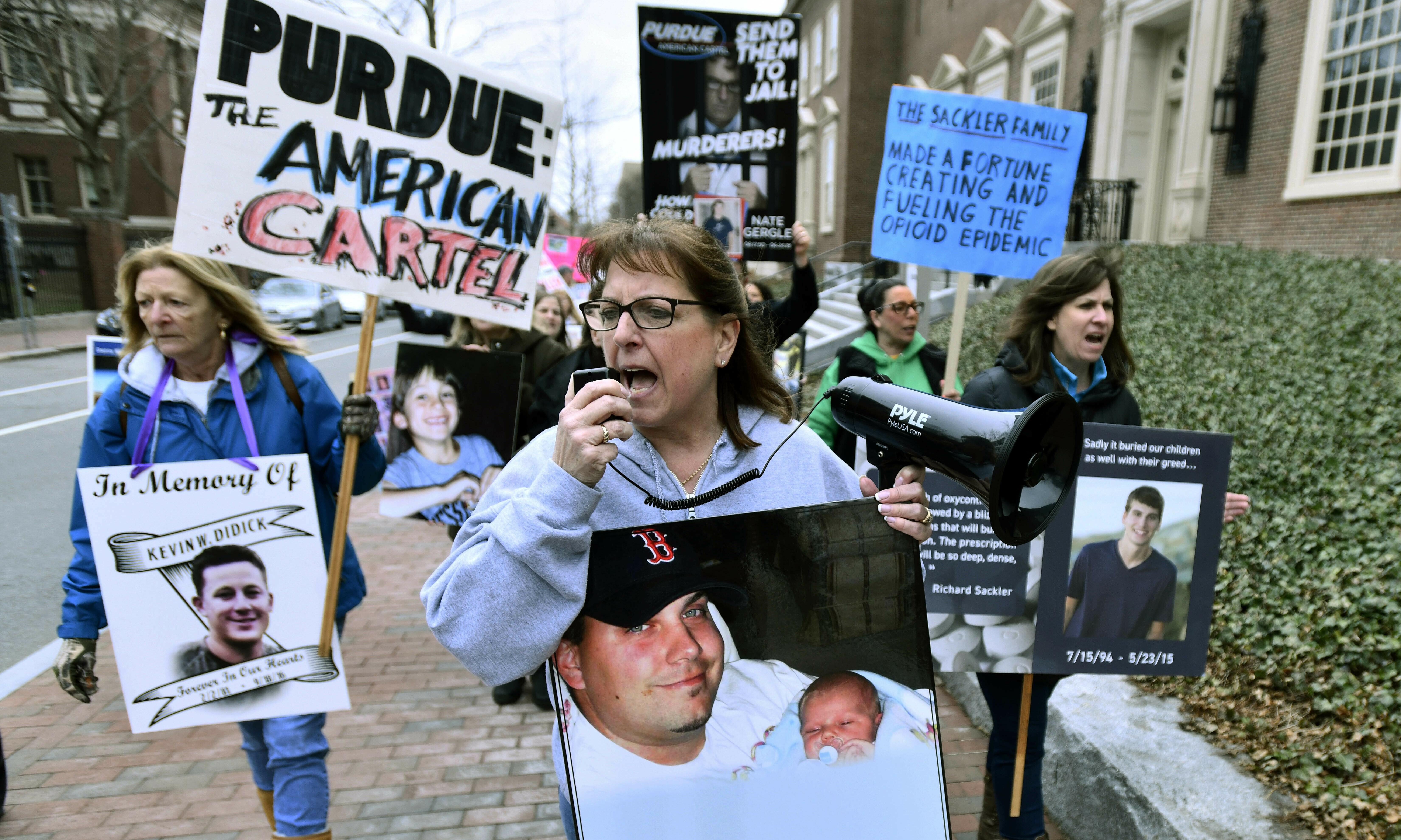 What does Purdue Pharma's bankruptcy filing actually mean?