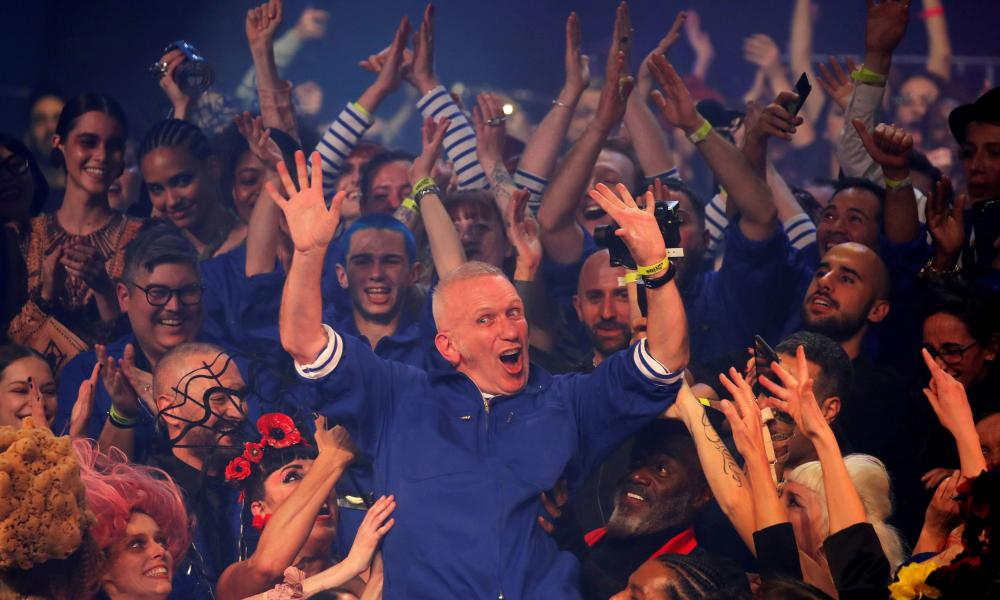 Anything but a French exit … Jean Paul Gaultier's riotous final show
