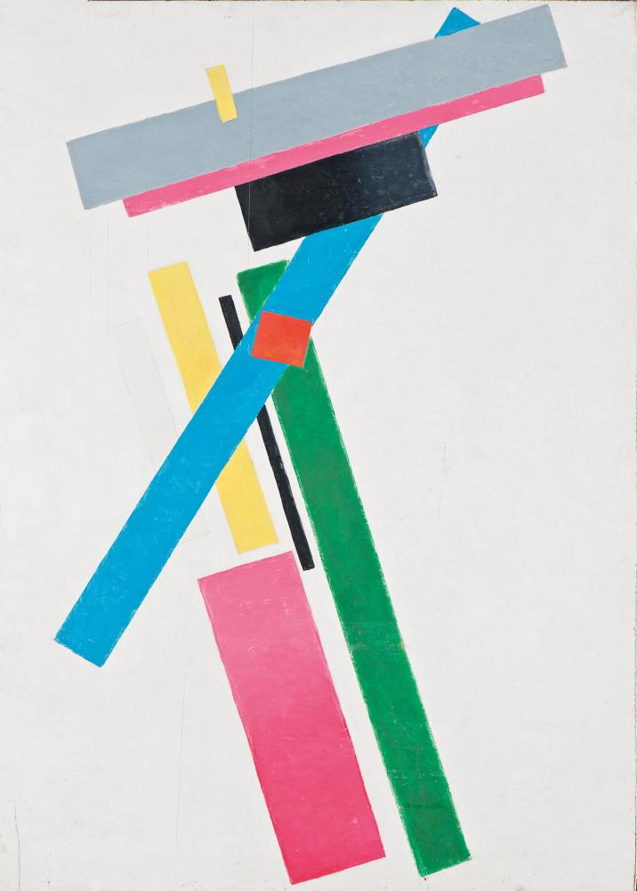 Suprematist Construction of Colours, 1928-29 by Kazimir Malevich.