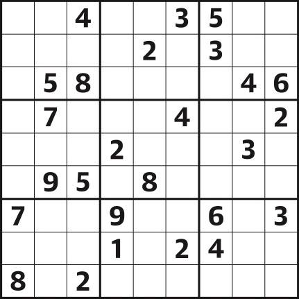 Sudoku 4,581 medium