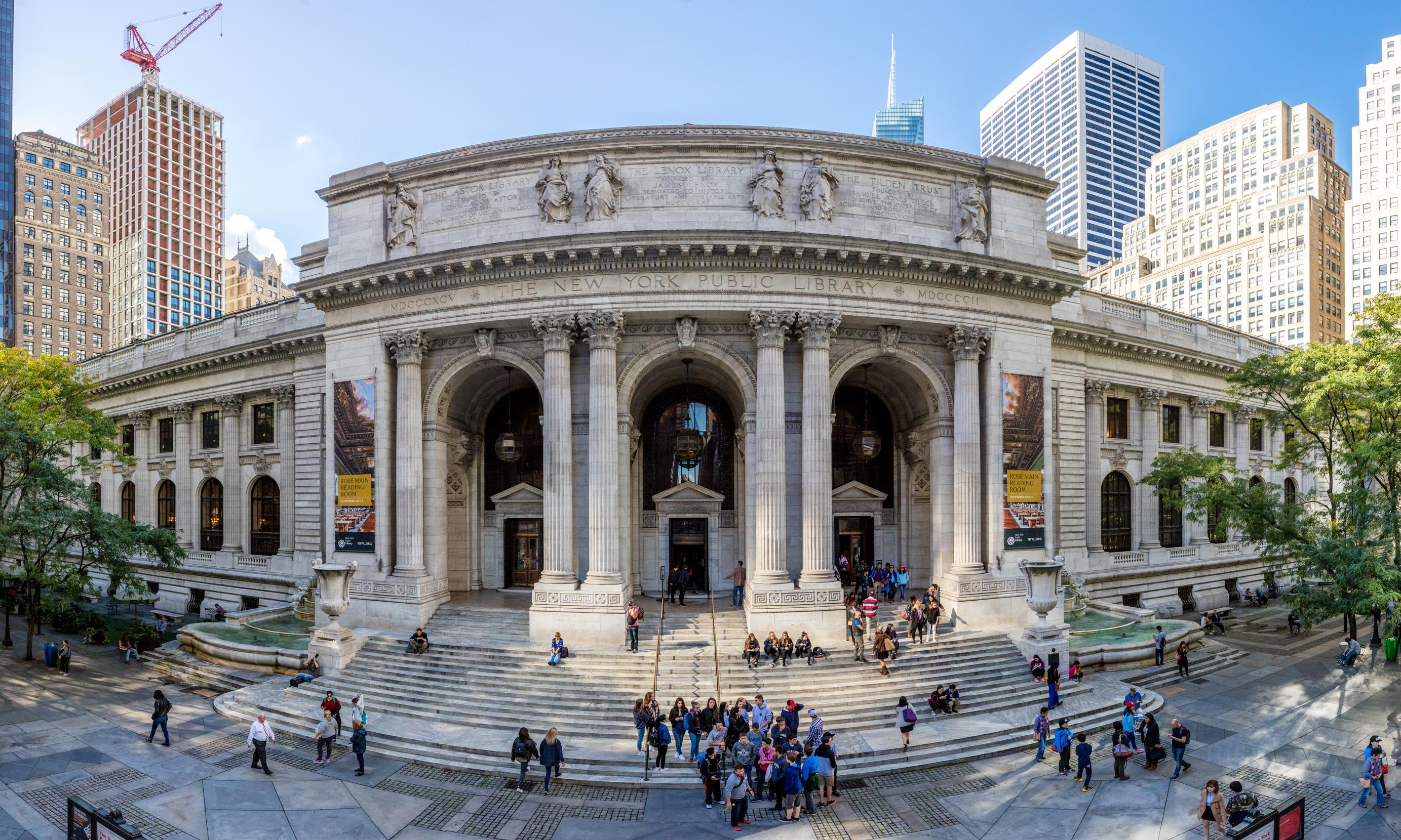 New York Public Library cancels Saudi-sponsored event