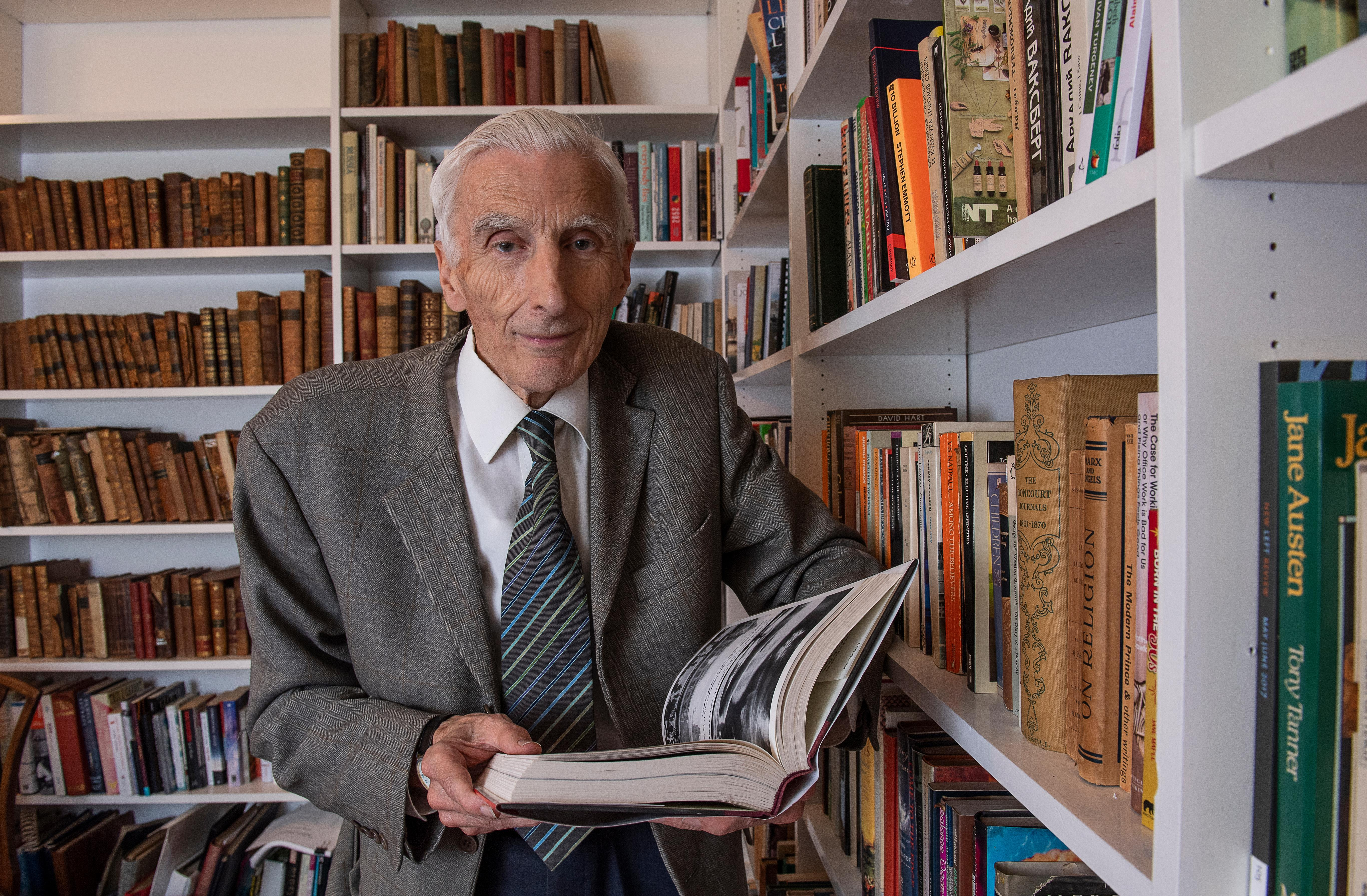 Martin Rees: 'Climate change is a doddle compared with terraforming Mars'