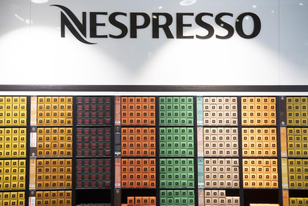 A Nespresso store in Switzerland in February 2020.