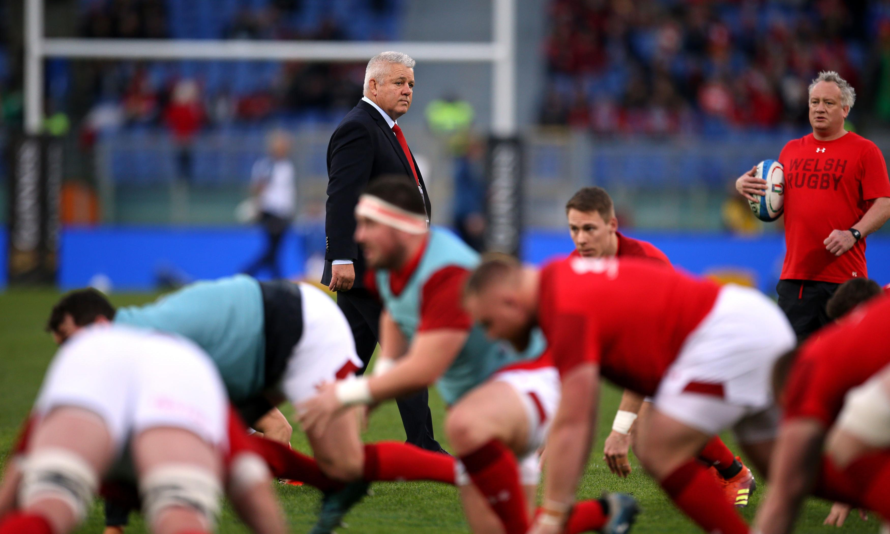 Warren Gatland ensures Wales leave nothing to chance against England