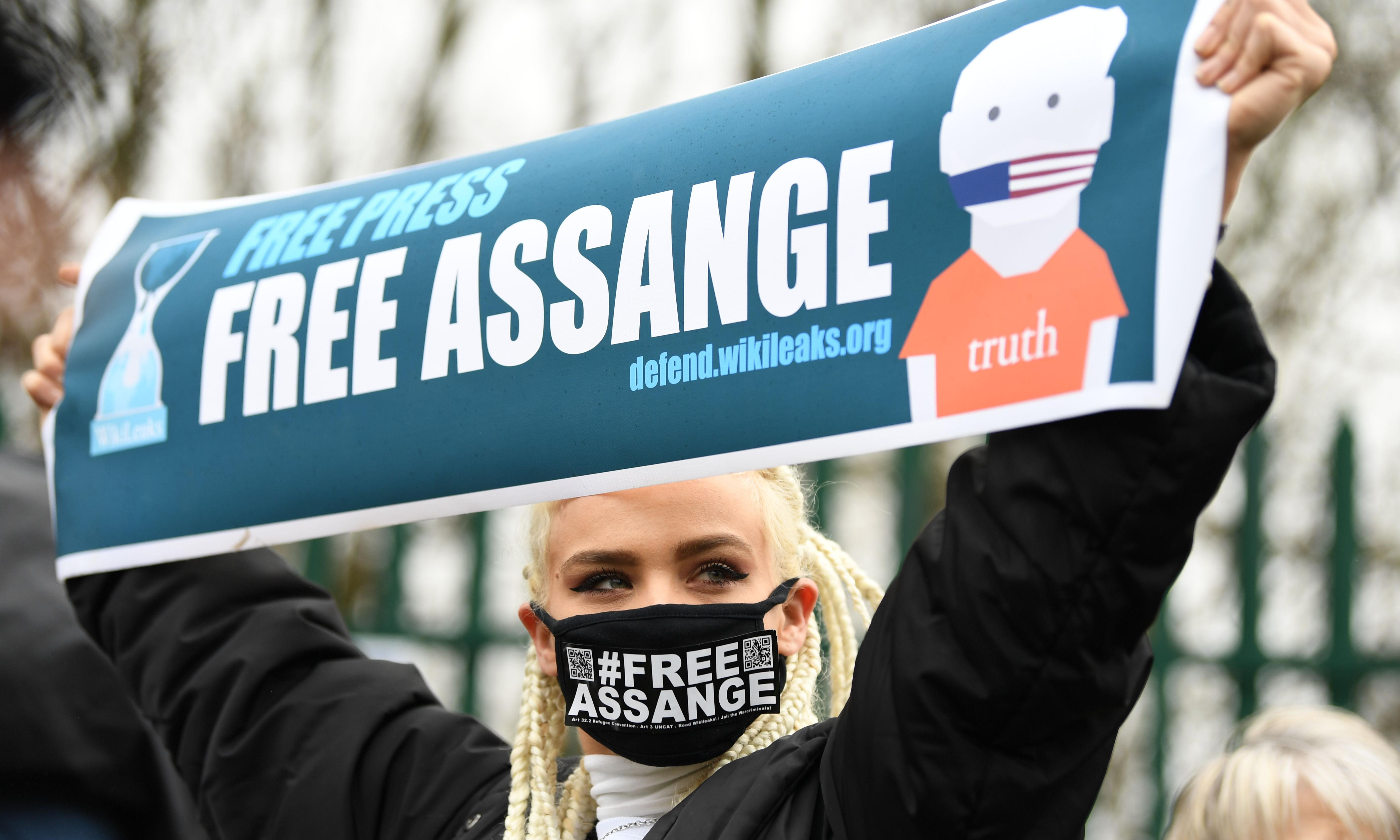 Julian Assange hearing: 'journalism is no excuse for breaking law'