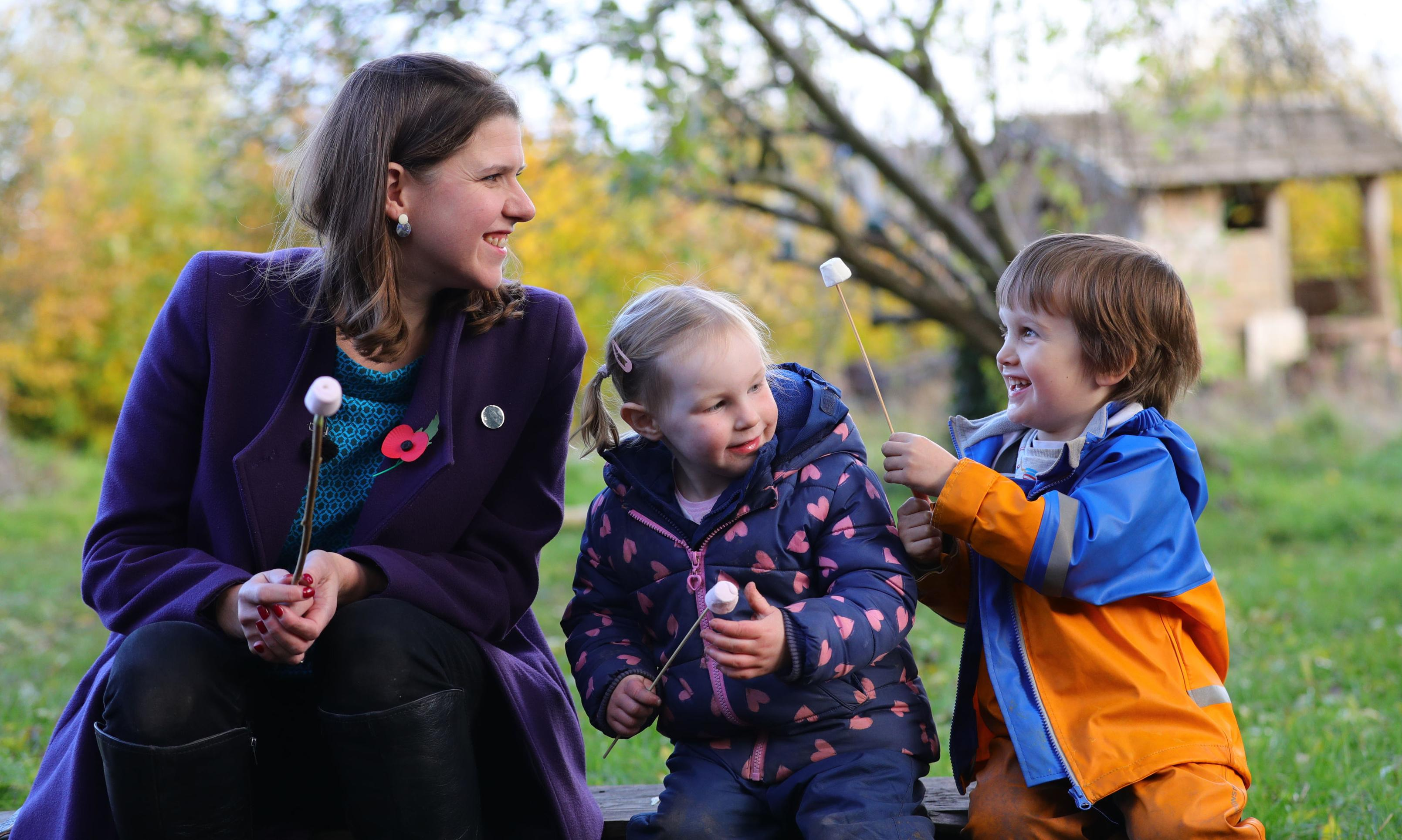 Lib Dems promise 35 hours of free childcare from nine months old