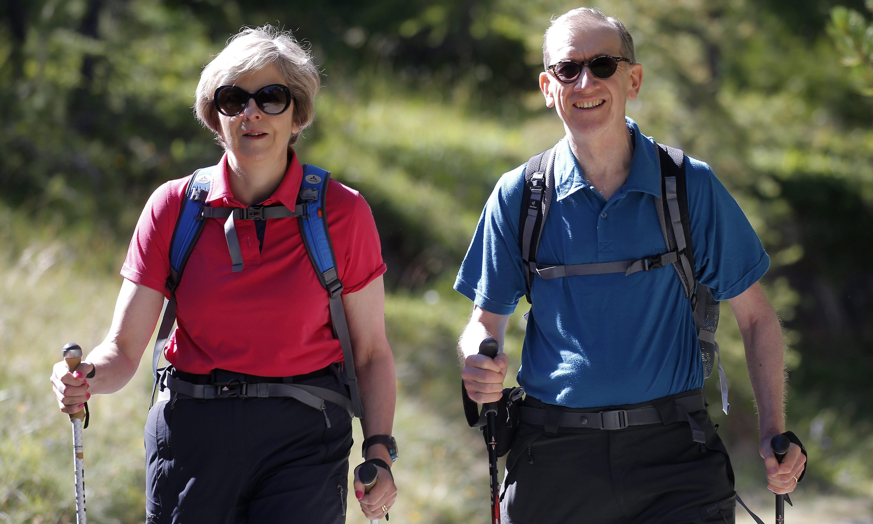 Theresa May: Swiss holidays brought home impact of climate crisis
