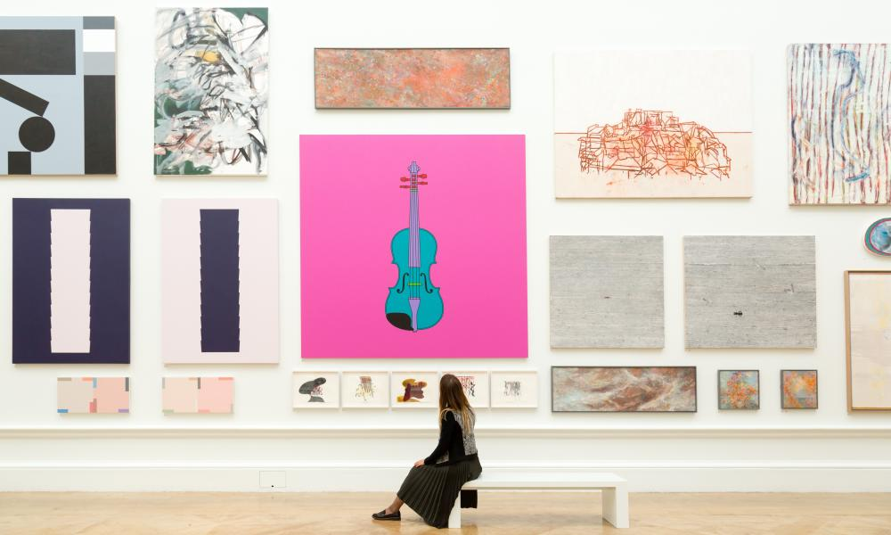 Untitled (Violin) by Sir Michael Craig-Martin