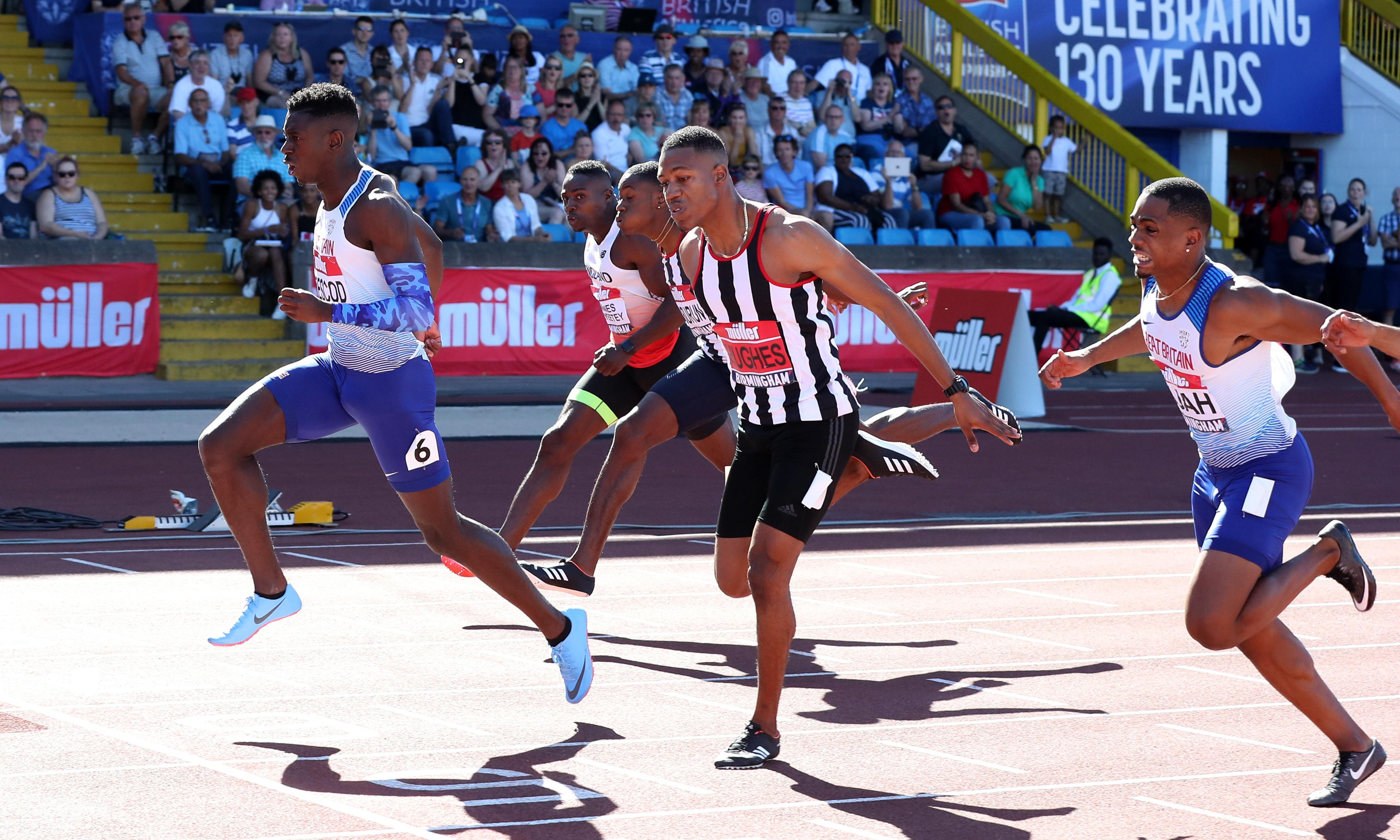 Reece Prescod tones down social life in quest for world championship gold