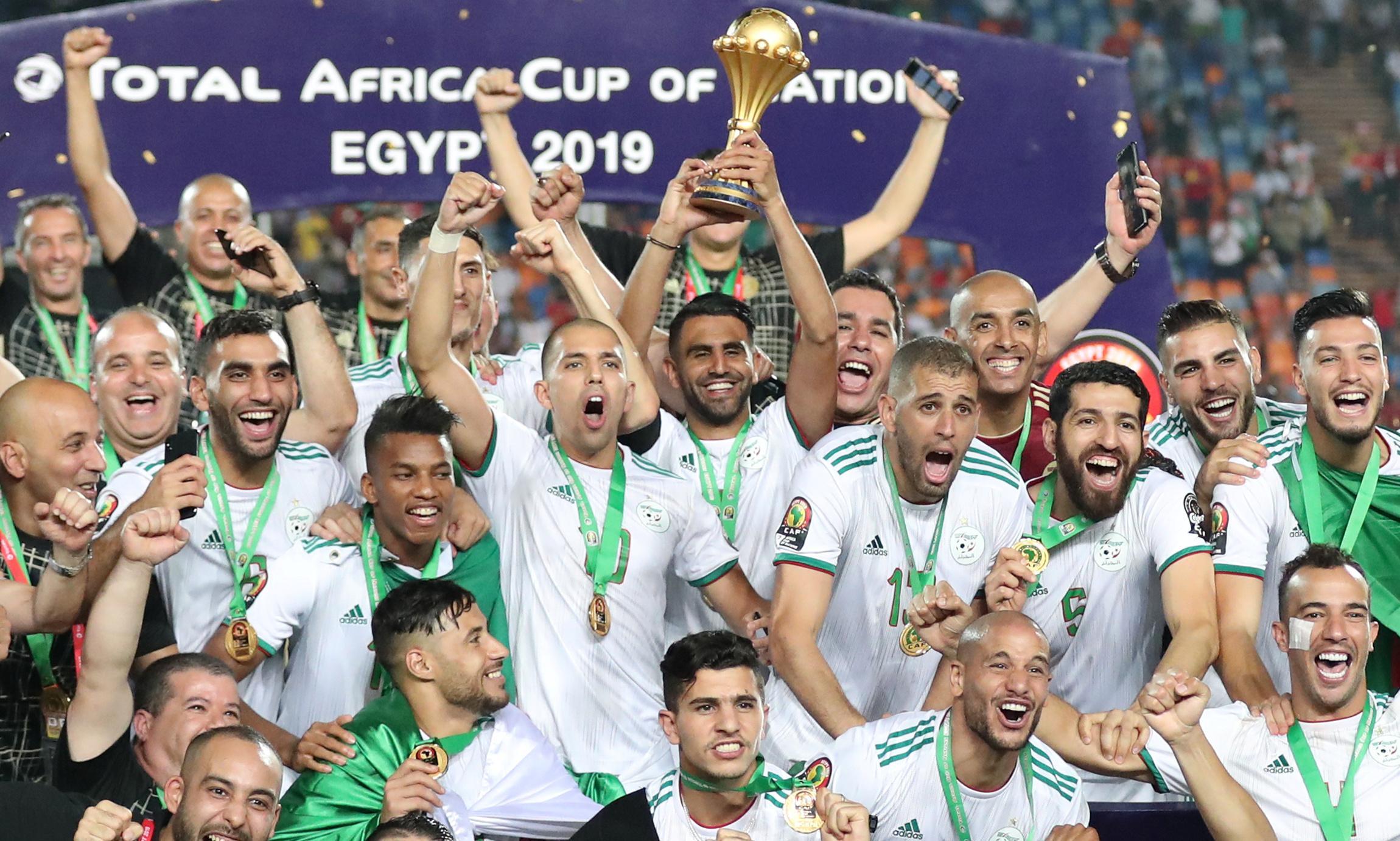 Algeria claim second Afcon title after Bounedjah's lucky strike sinks Senegal