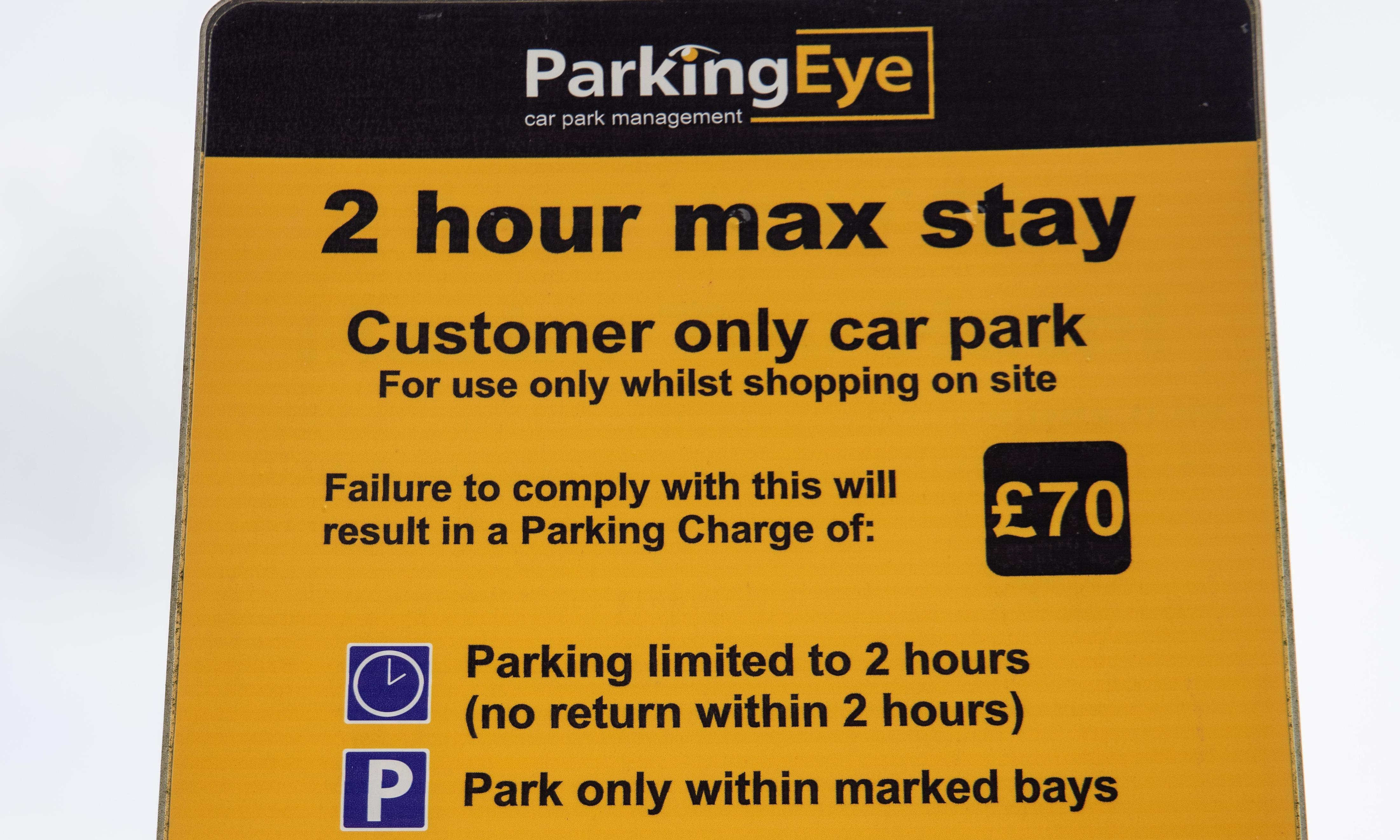 I was greeted with a £60 parking penalty at Southend airport