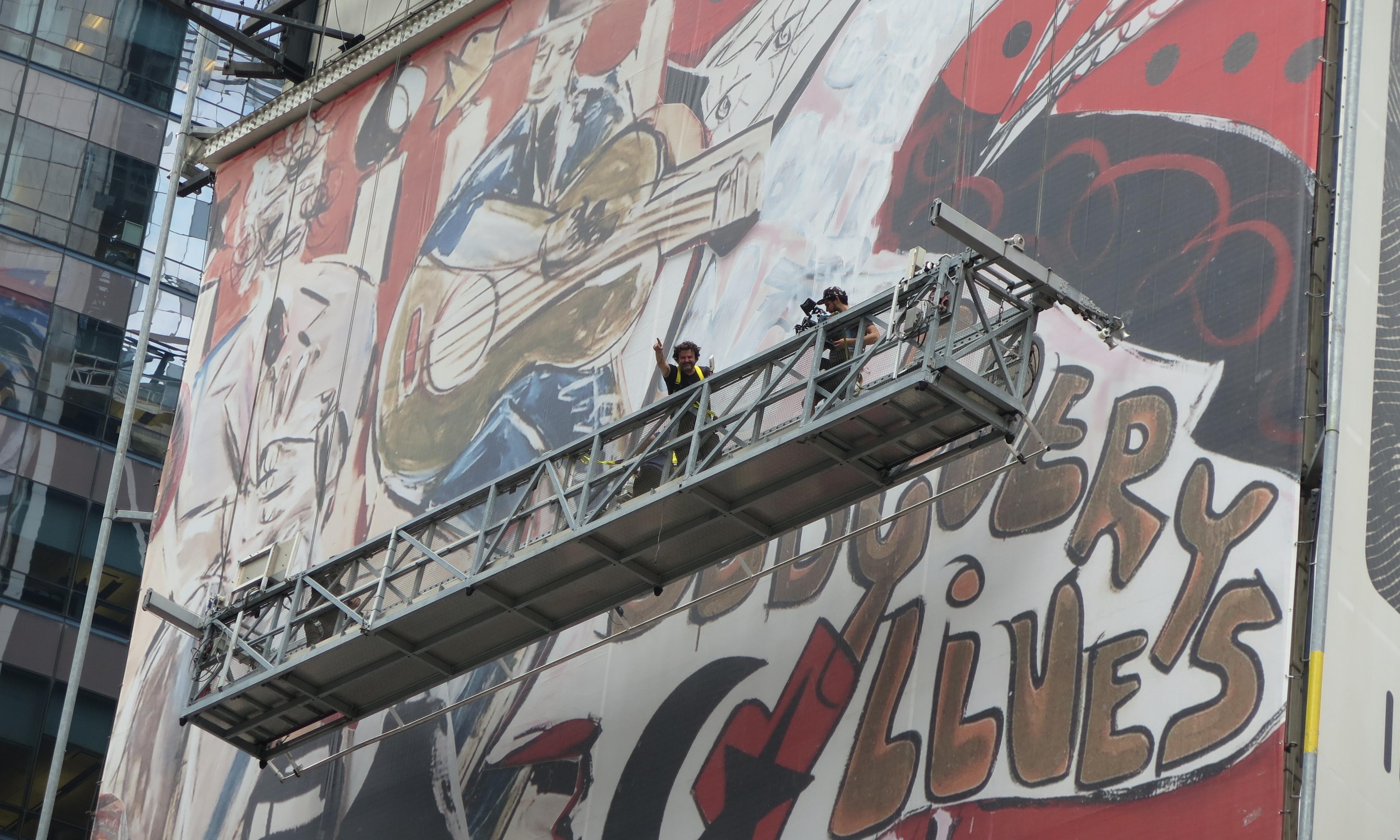 'You might see yourself in it': behind New York City's biggest-ever mural