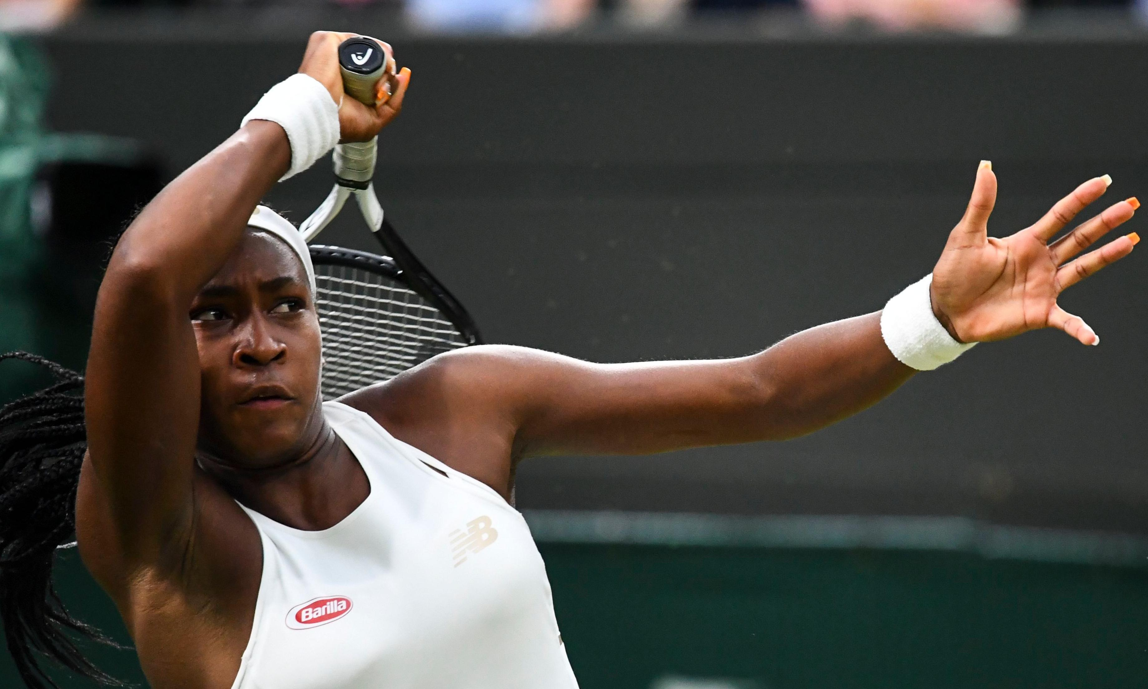 Cori Gauff oozes confidence and maturity in win over Magdalena Rybarikova