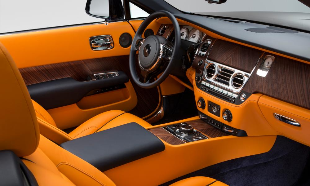 Inside story: the cosseting interior of the Rolls Royce Dawn