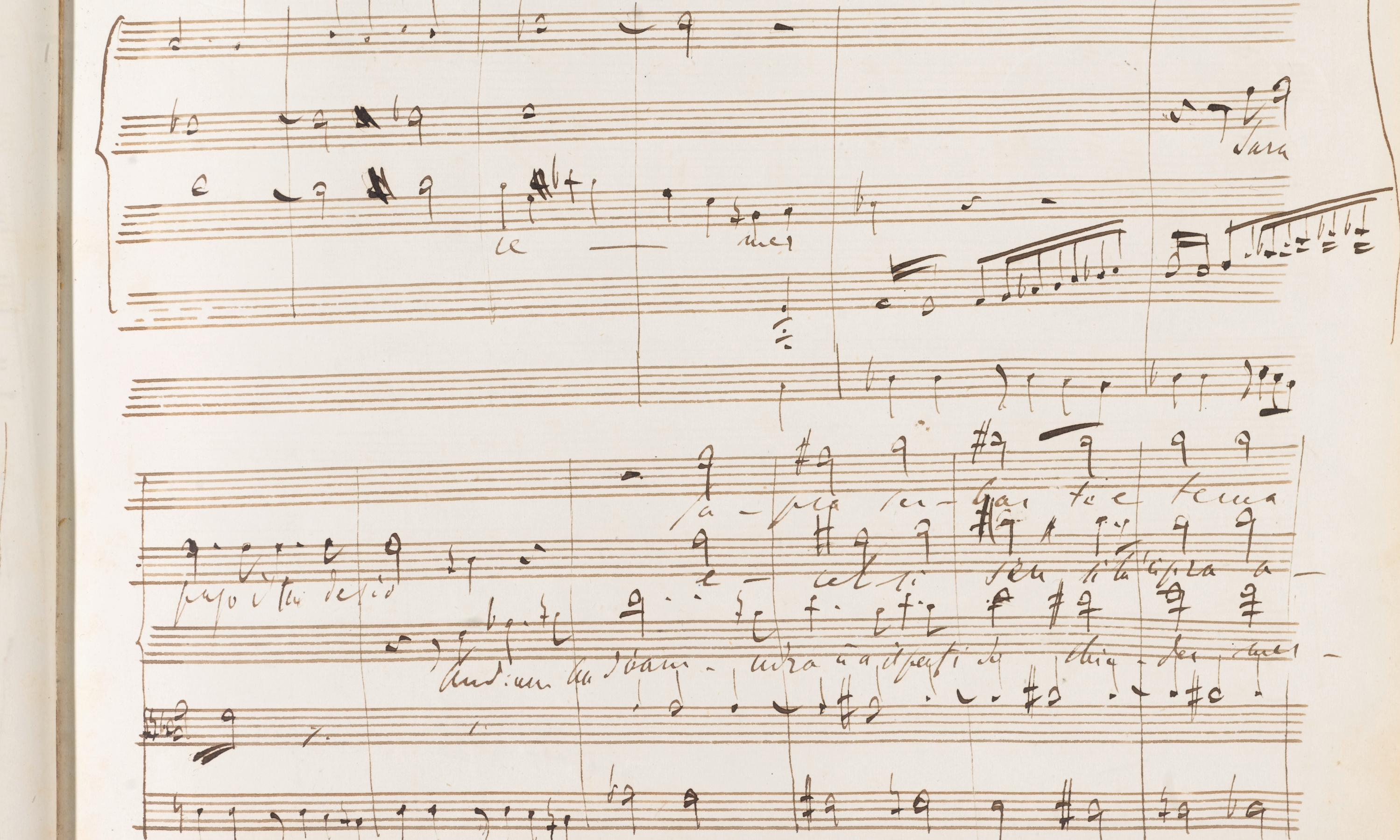 Liszt's lost opera: 'beautiful' work finally brought to life after 170 years