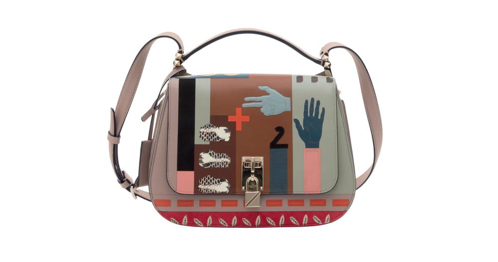 Valentino's Memphis-inspired bag