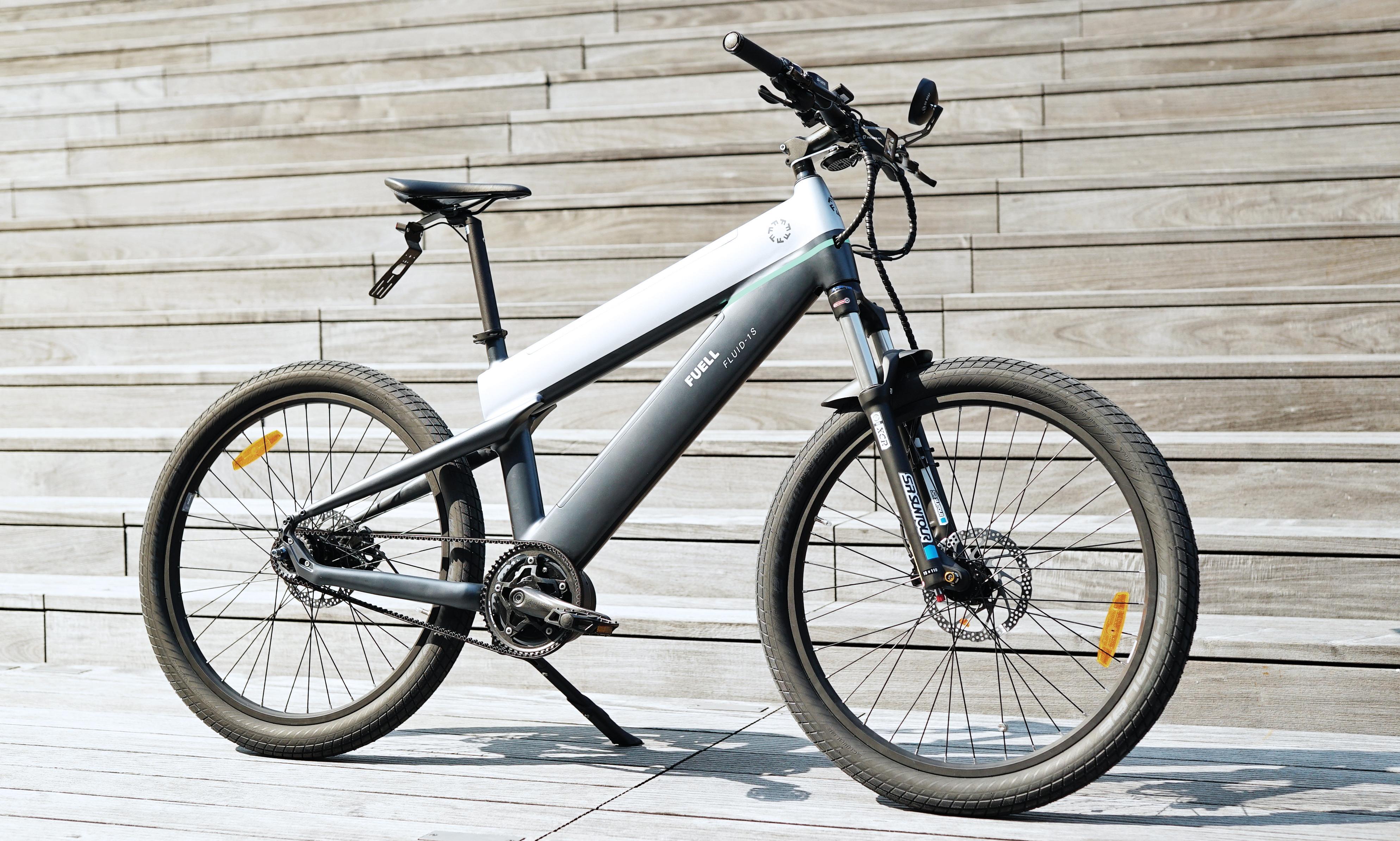 Fuell Fluid ebike: 'Turns heads in any bike lane'