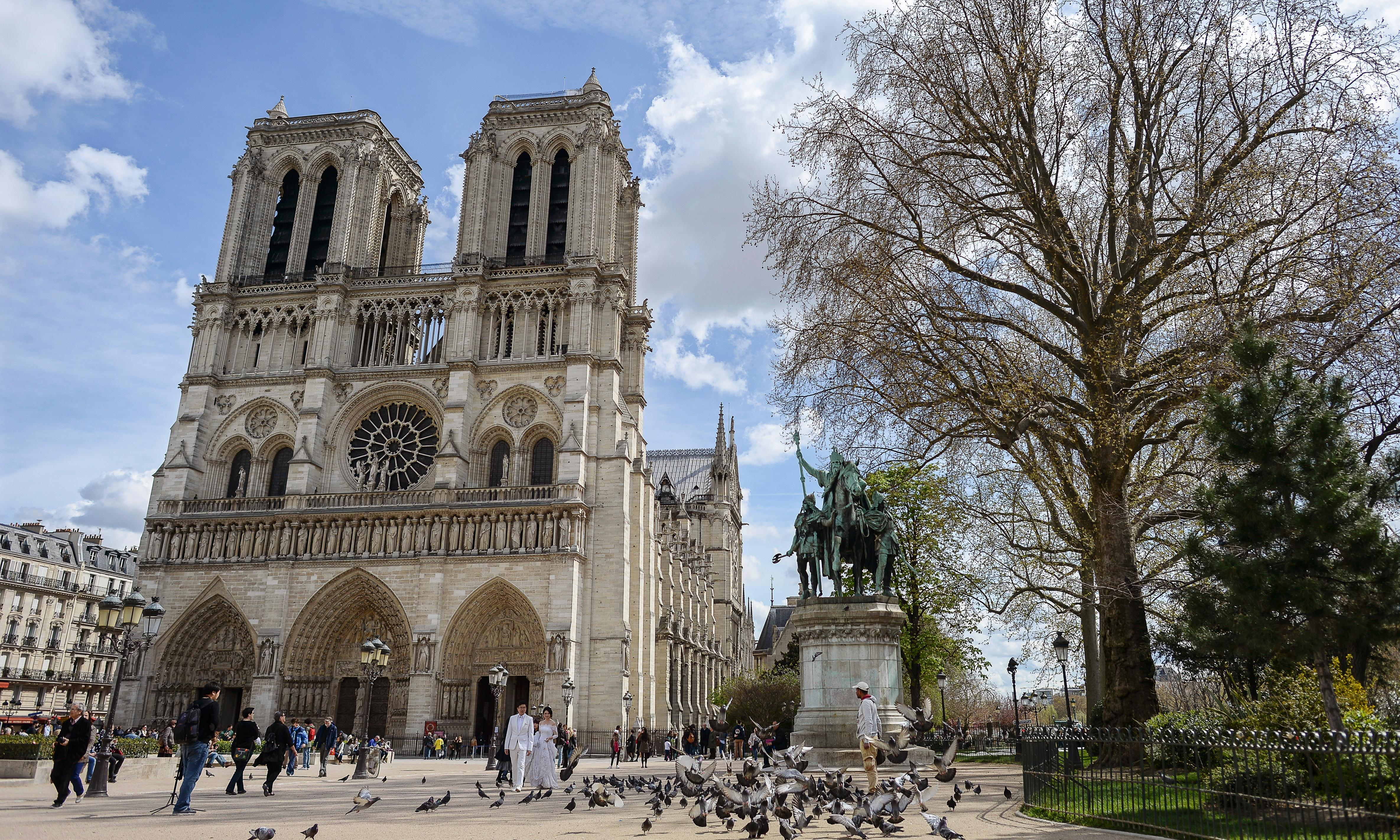 Notre Dame car bombing: all-female jihadist cell jailed for failed cathedral attack
