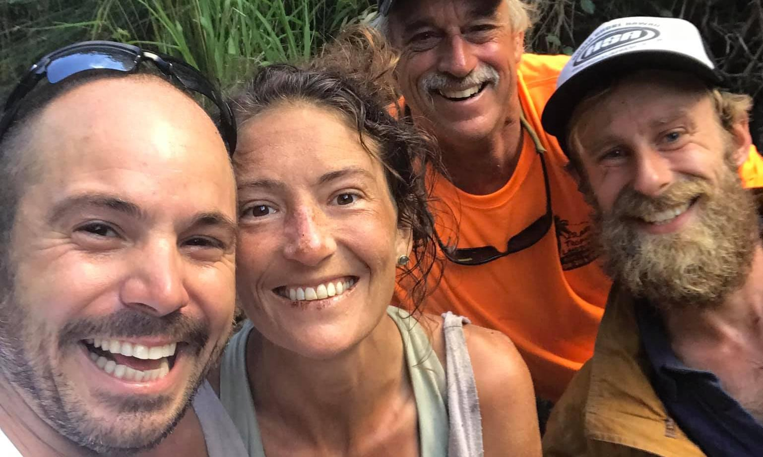 Woman found alive after two weeks in Hawaii forest ate moths to survive