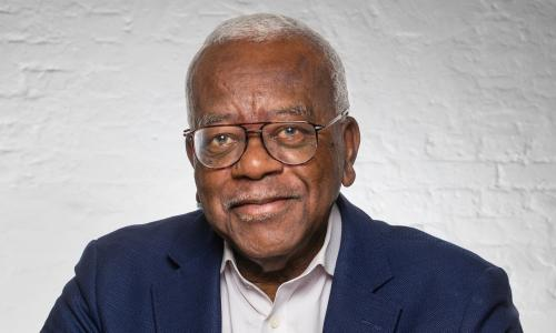 Newscaster Sir Trevor McDonald OBE