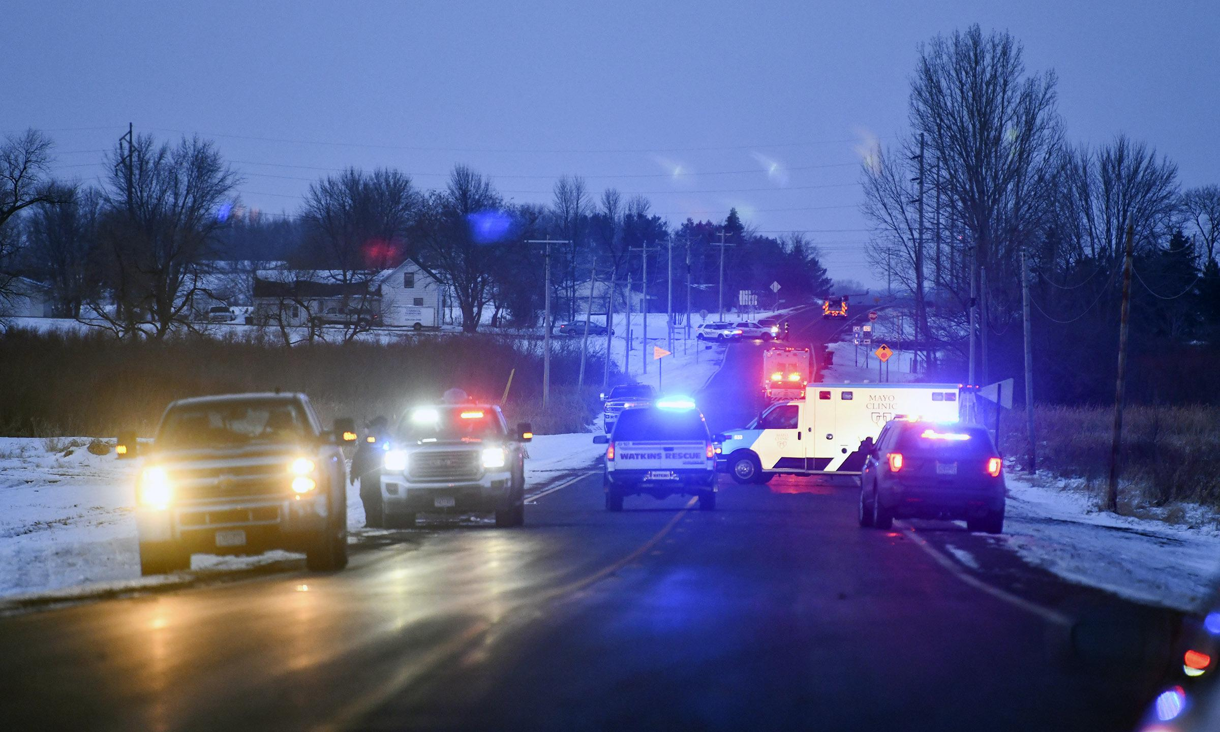 Three national guard soldiers killed when helicopter crashes in Minnesota