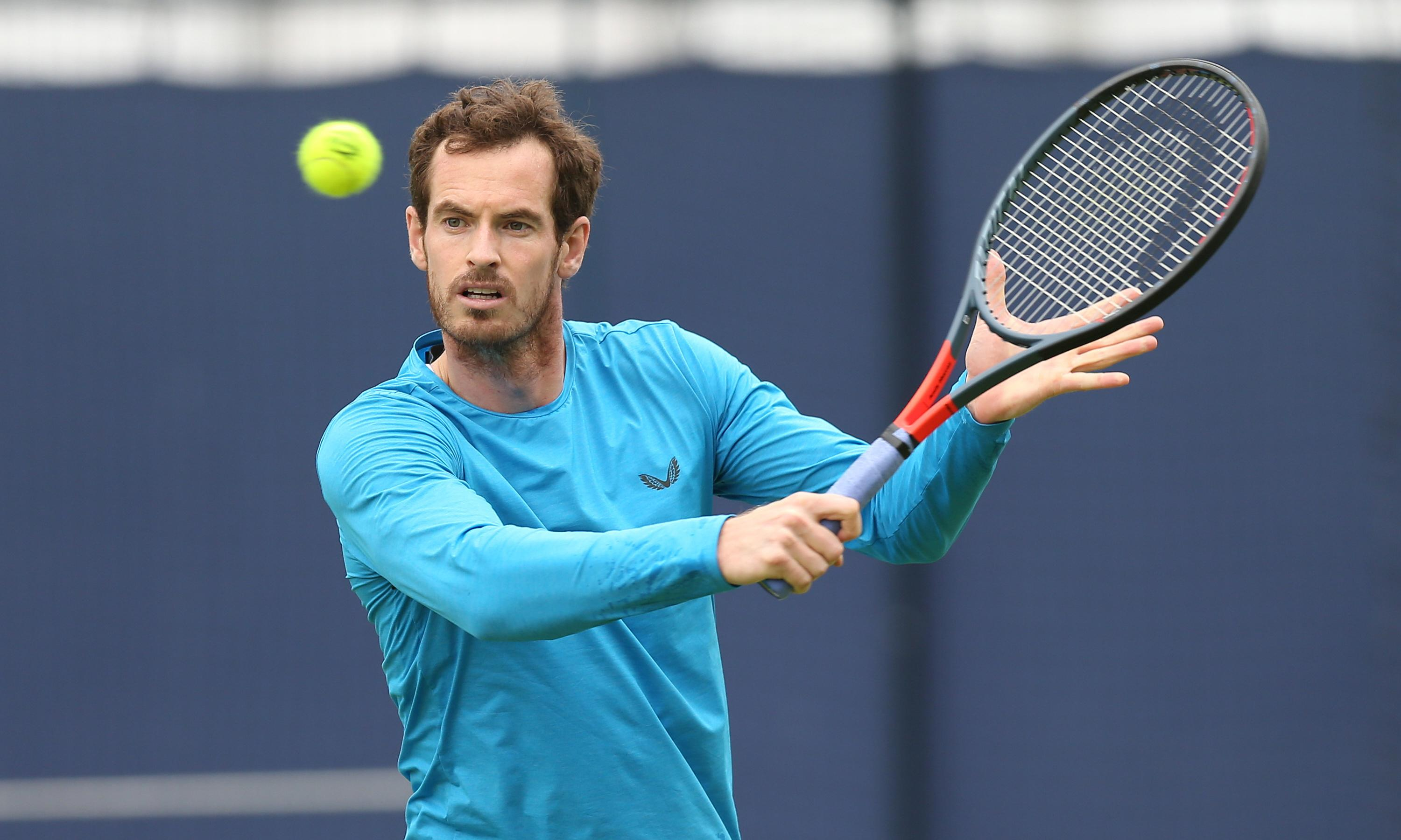 Andy Murray hopes to play singles this year but sets no timescale for return