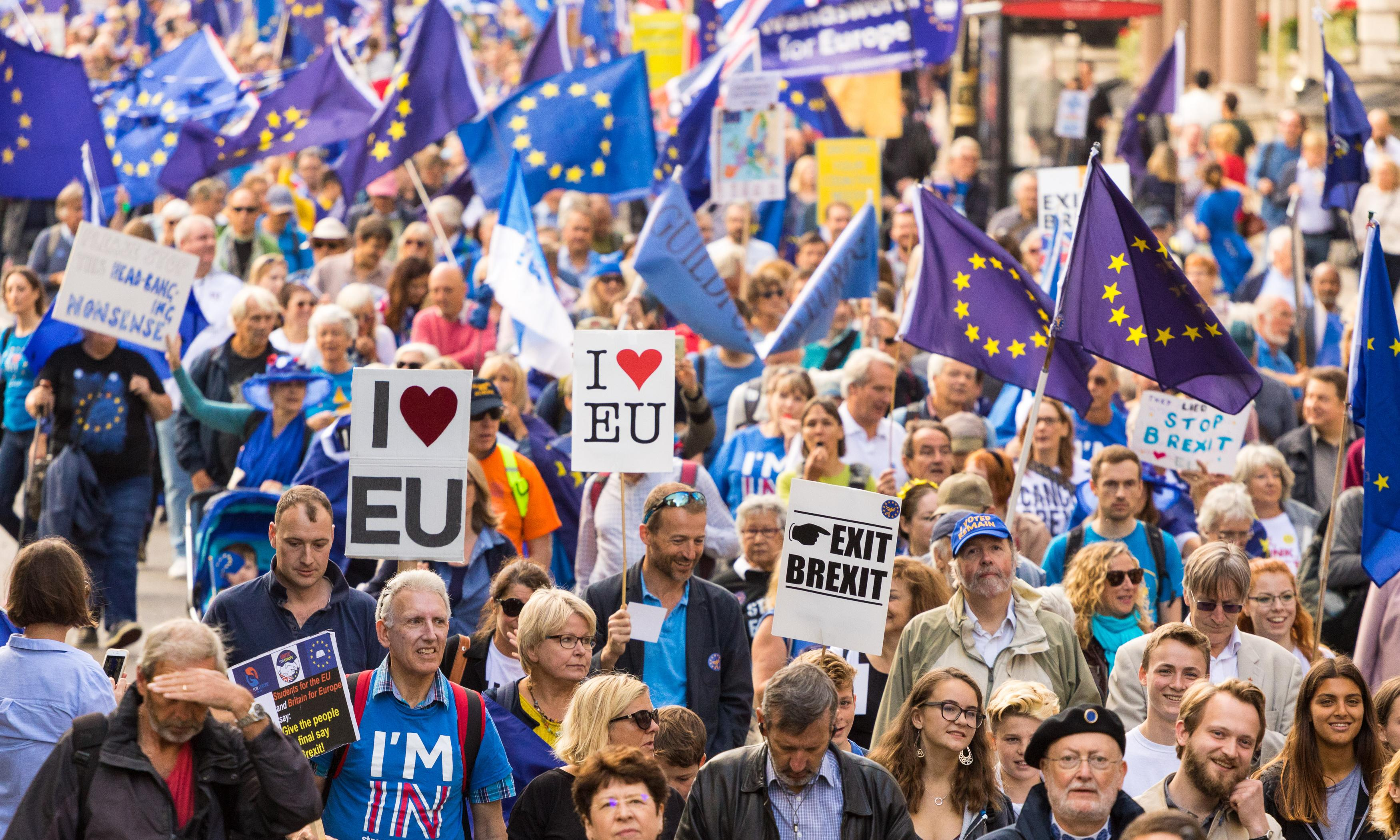 The Guardian view on the People's Vote march: a force for good