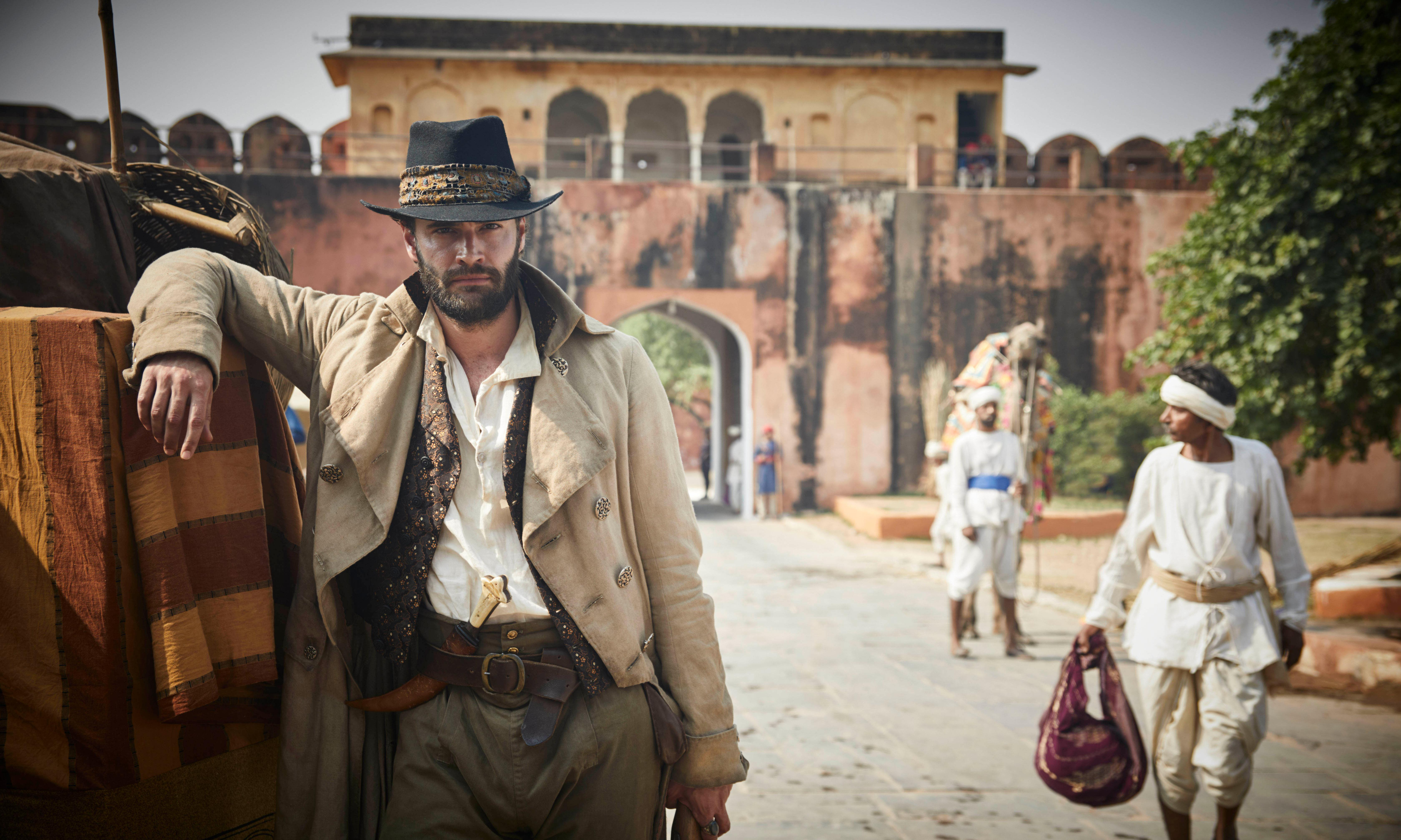 Beecham House review – one man and his beard try to save India