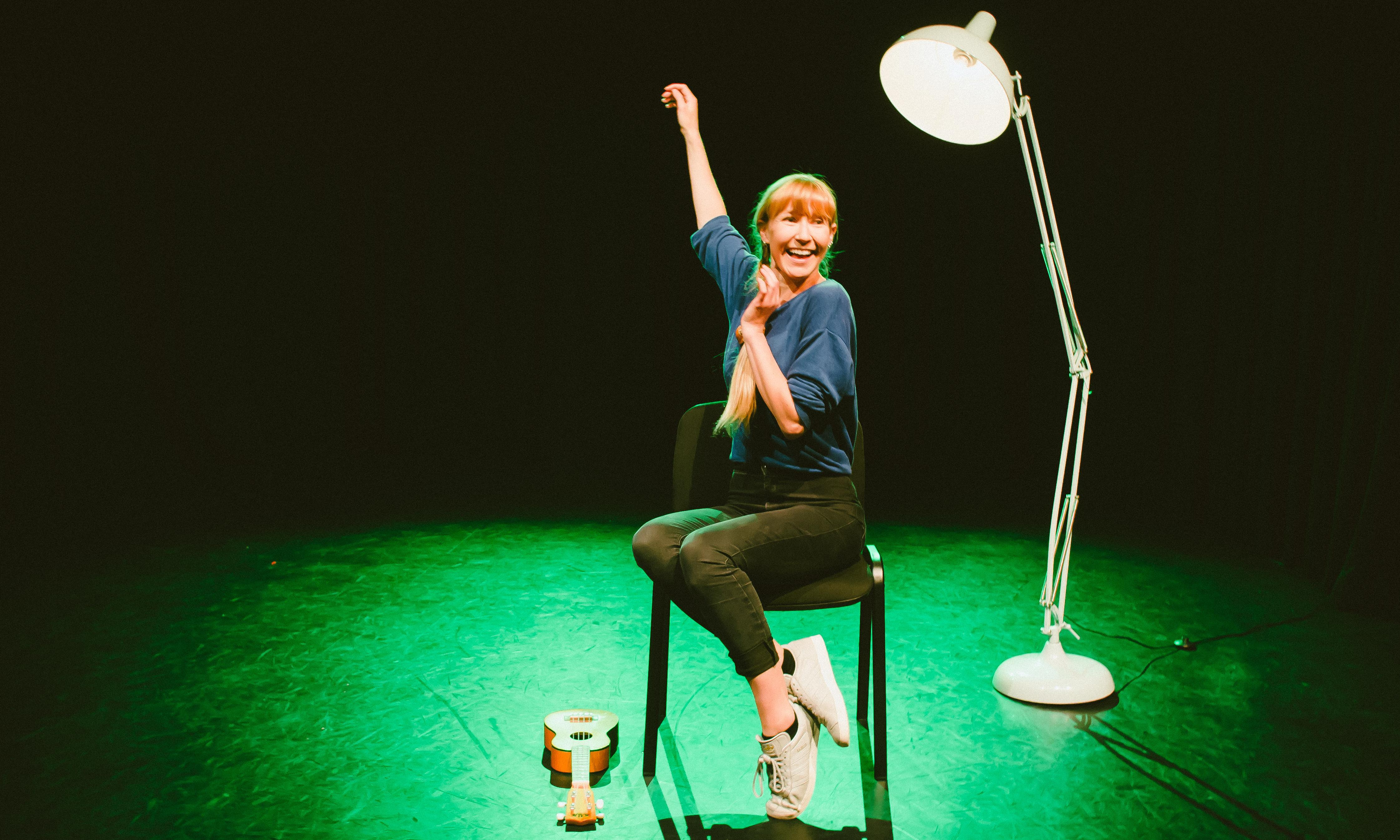 Sexy Lamp review – actor shines stark light on the misogyny of her industry