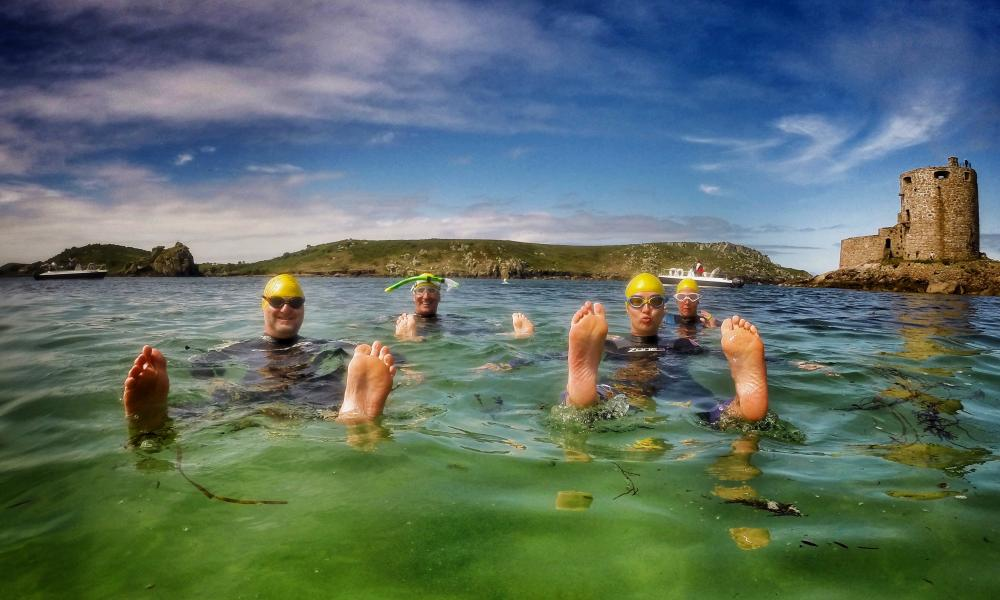 Adventure Scilly swimming holiday