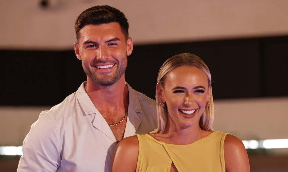 Liam Reardon and Millie Court