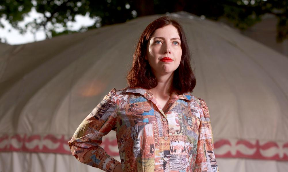 Poet Hera Lindsay Bird strides confidently off the page