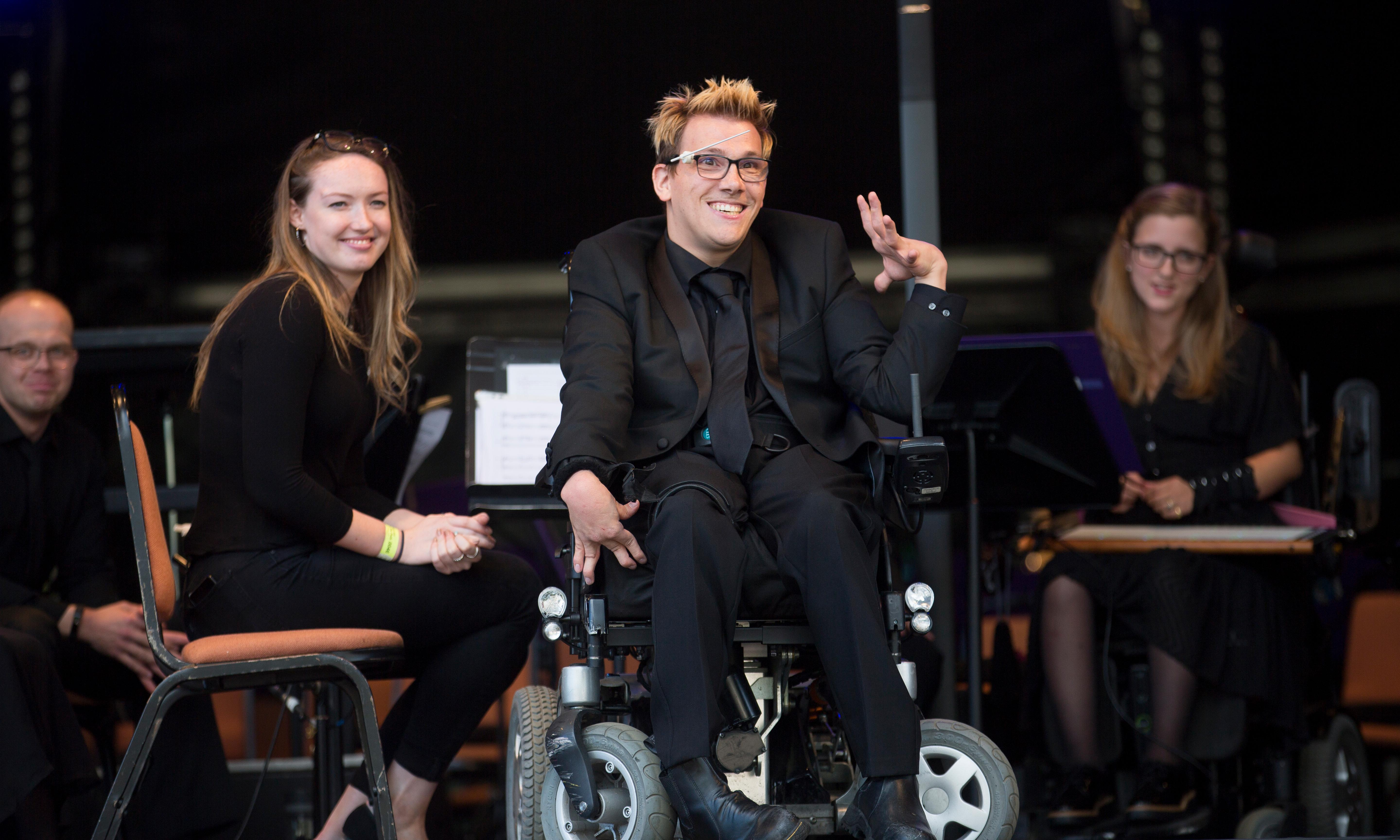 Batons not barriers: The disabled musicians coming to the proms