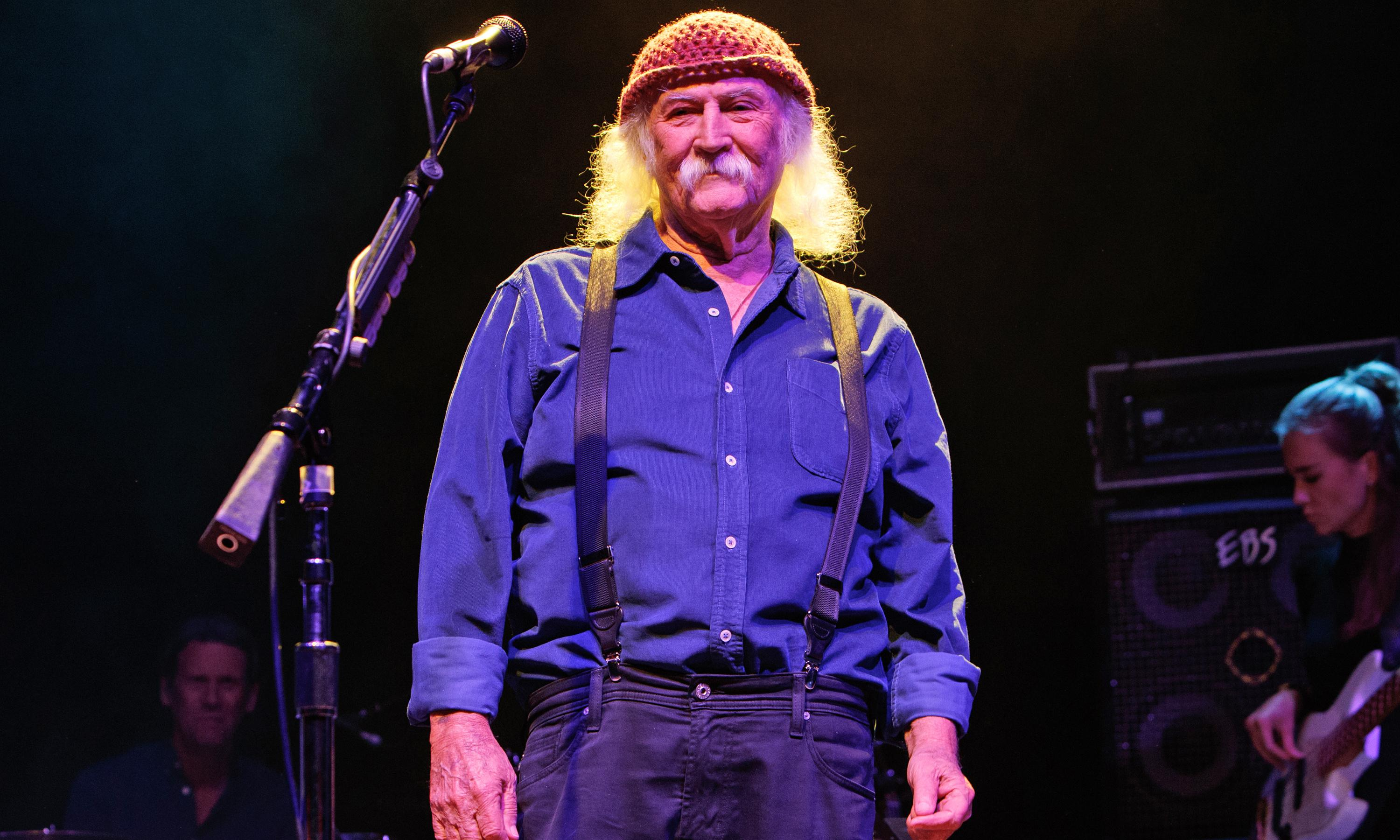David Crosby: 'I think right now, it's worse than the 60s'