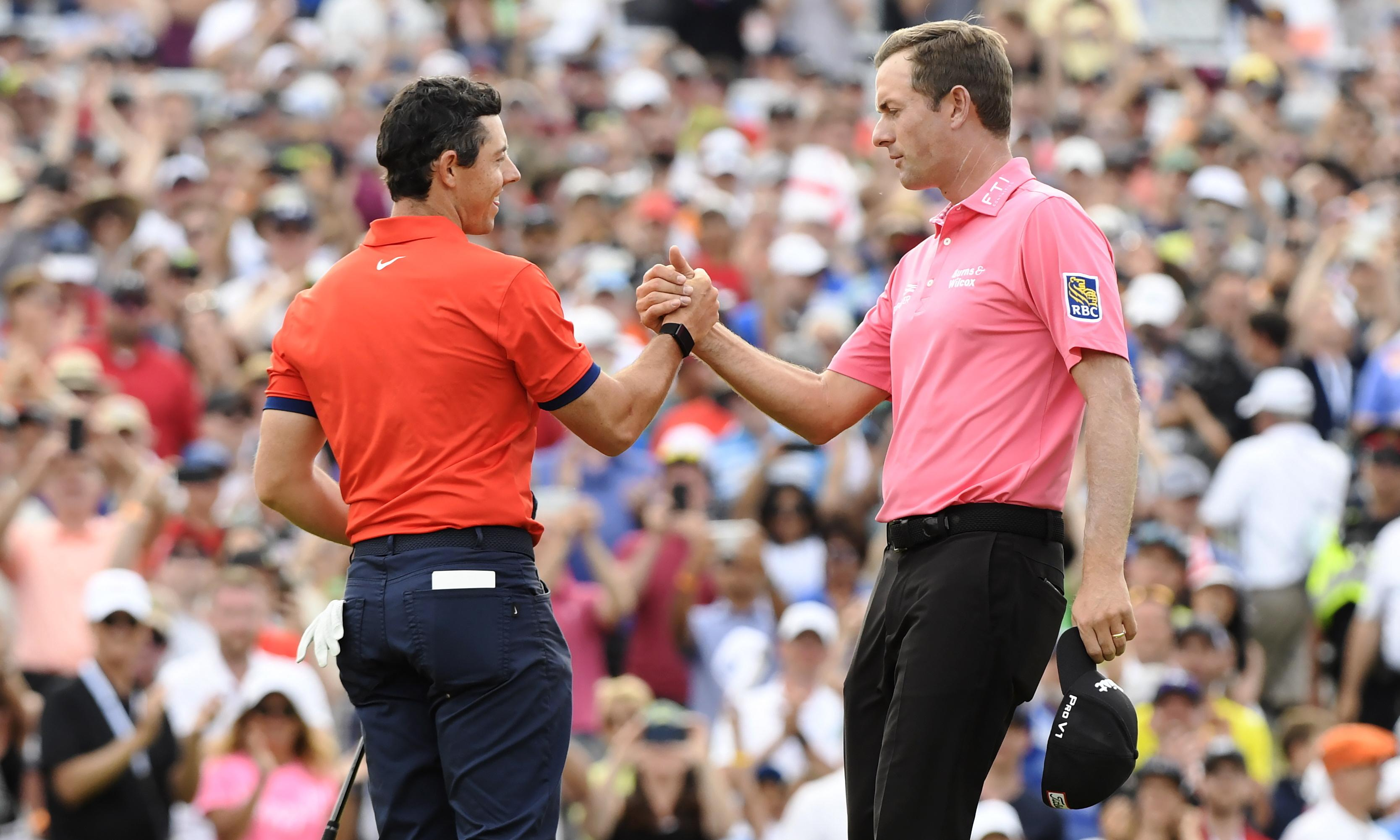Rory McIlroy fires a nine-under 61 to win Canadian Open by seven shots