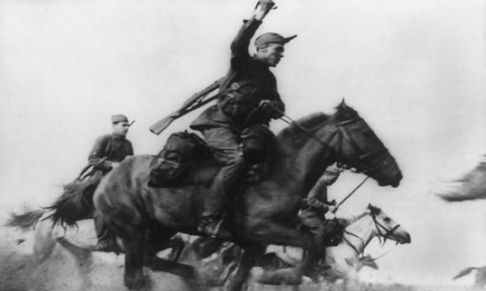 The Red Army cavalry in 1941.