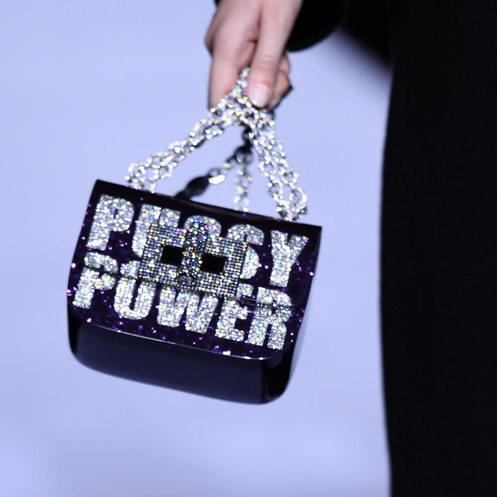 Tom Ford's 'Pussy Power' bag.