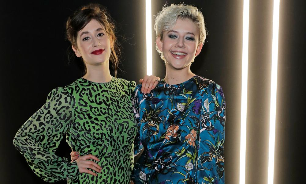 'On our first night, no one turned up' … Charly Clive and Ellen Robertson are converting their Edinburgh success into a TV show.