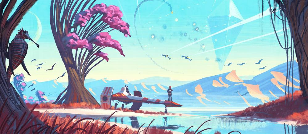 Grand design … No Man's Sky