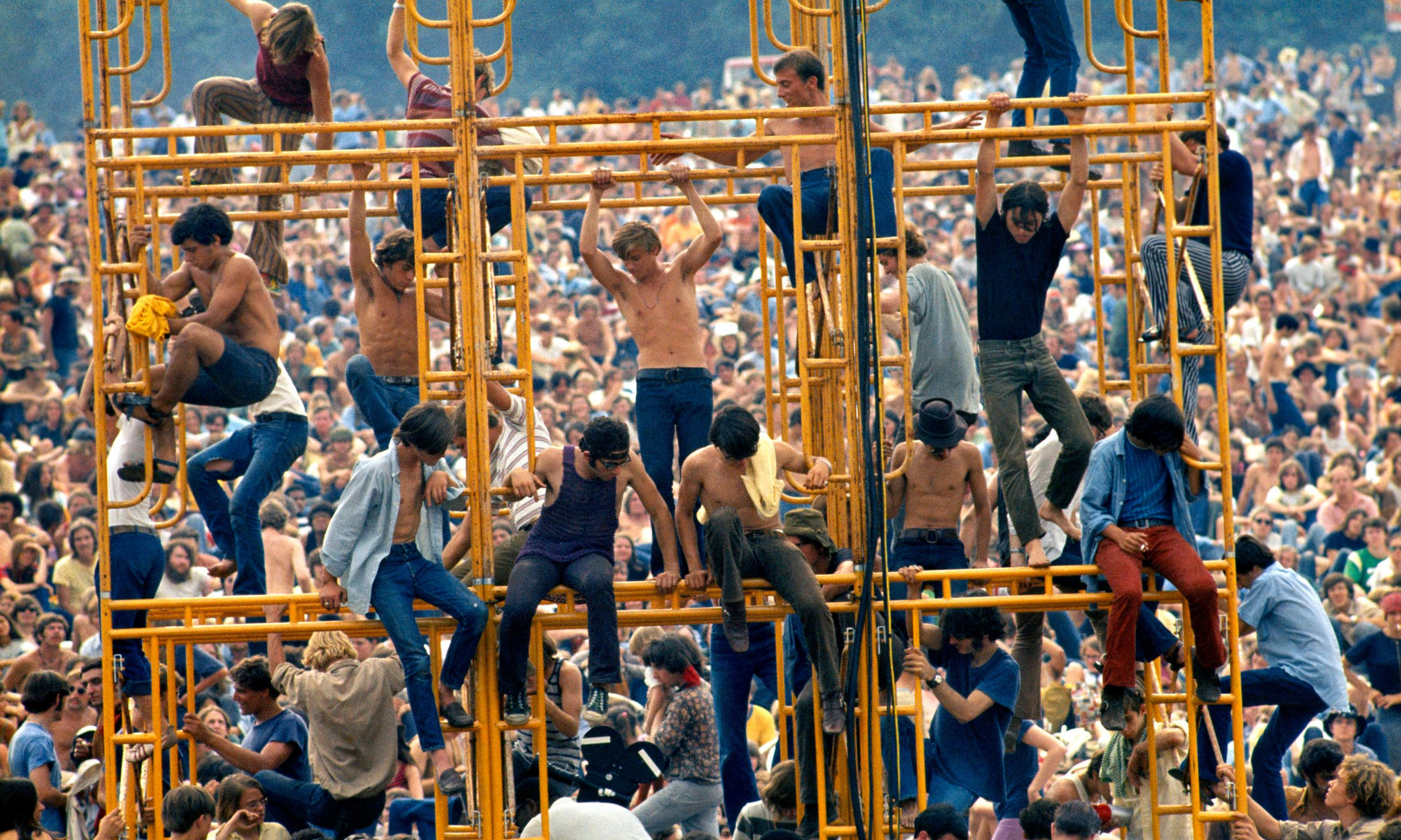 TV tonight: a strangely straight look at the 1969 hippy pilgrimage to Woodstock
