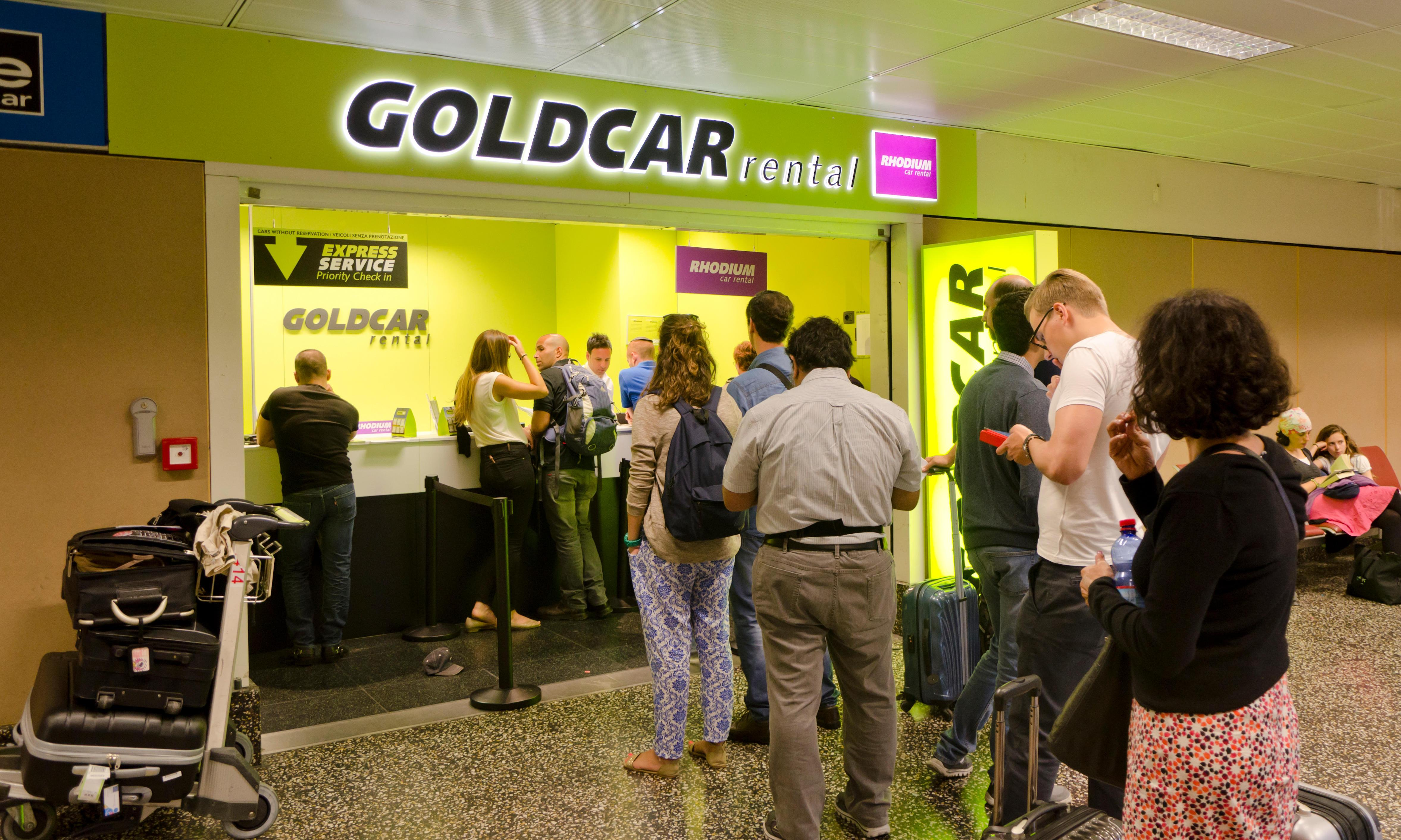 Goldcar named worst car hire company in Which? survey
