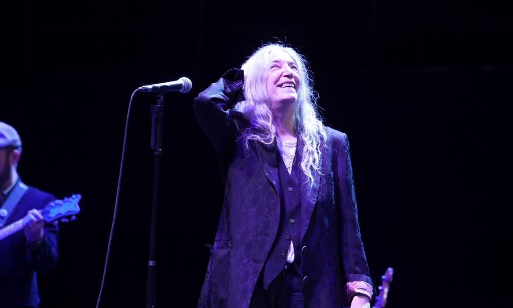 Patti Smith at the Royal Albert Hall, London.
