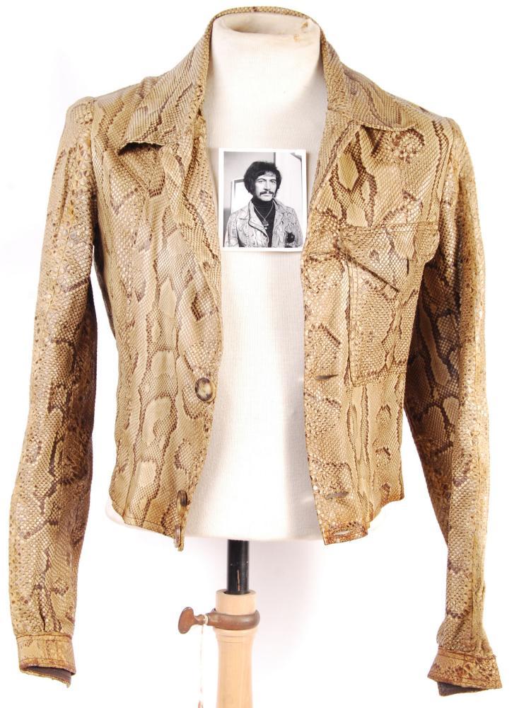 Snakeskin jacket, as worn by Peter Wyngarde