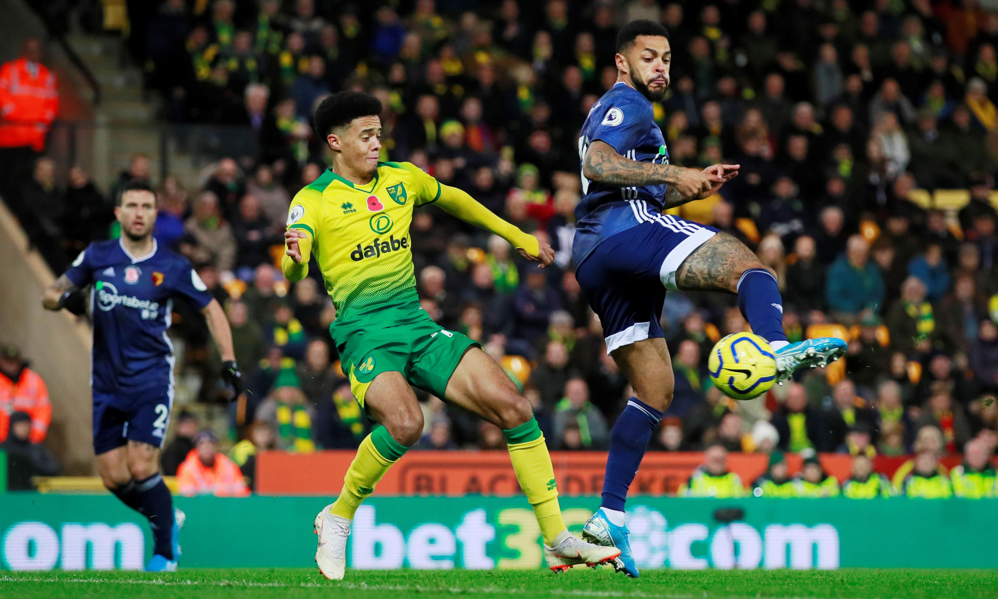 Andre Gray backheel seals Watford's first win and leaves Norwich bottom