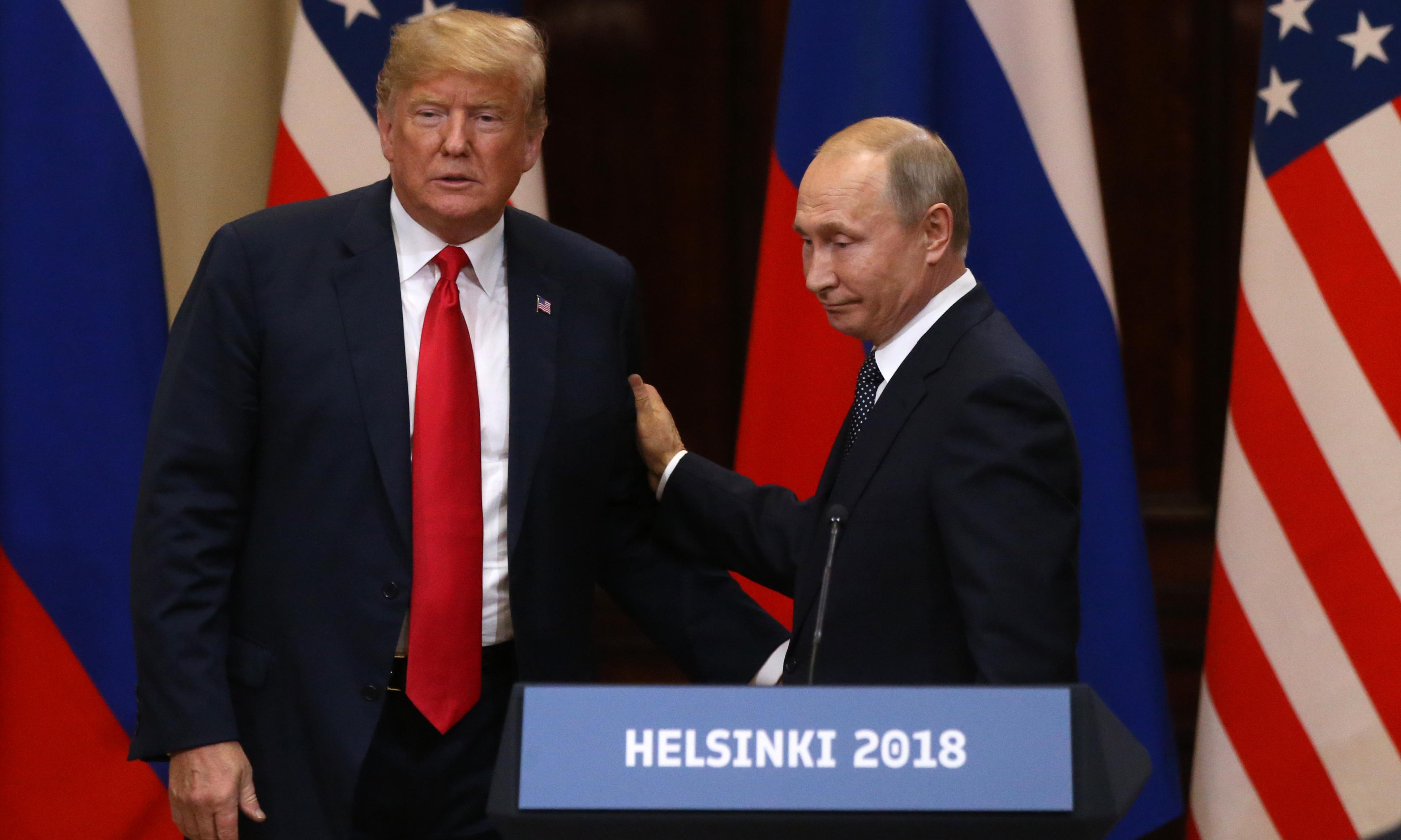 US in virtual tie with Russia on global confidence, poll finds