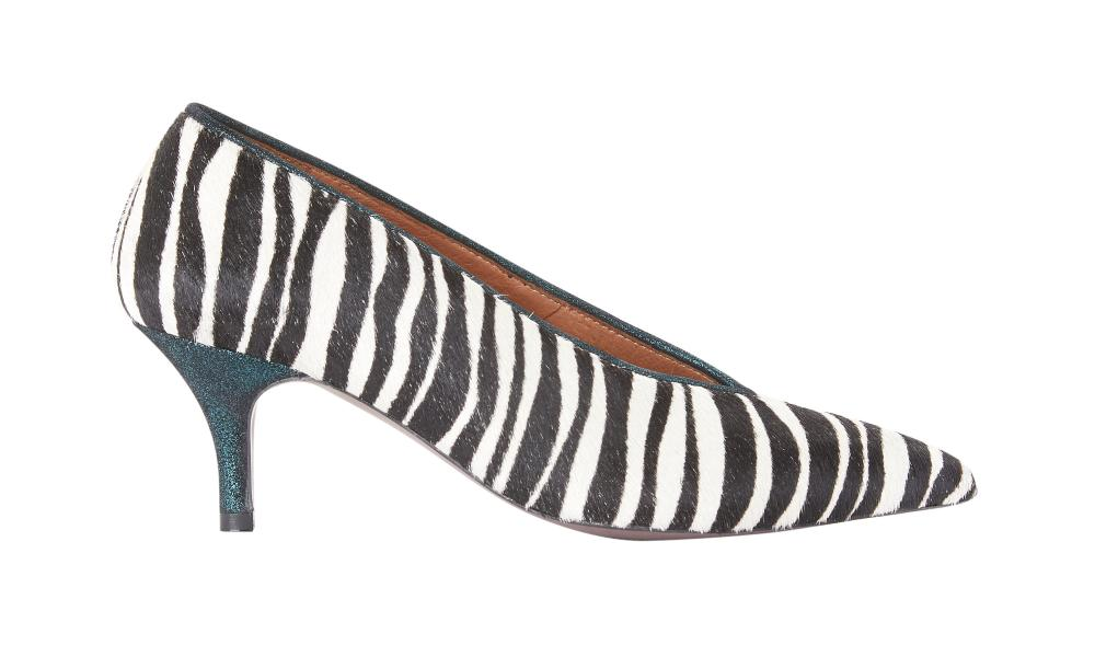 And/Or John Lewis zebra heels, £89.