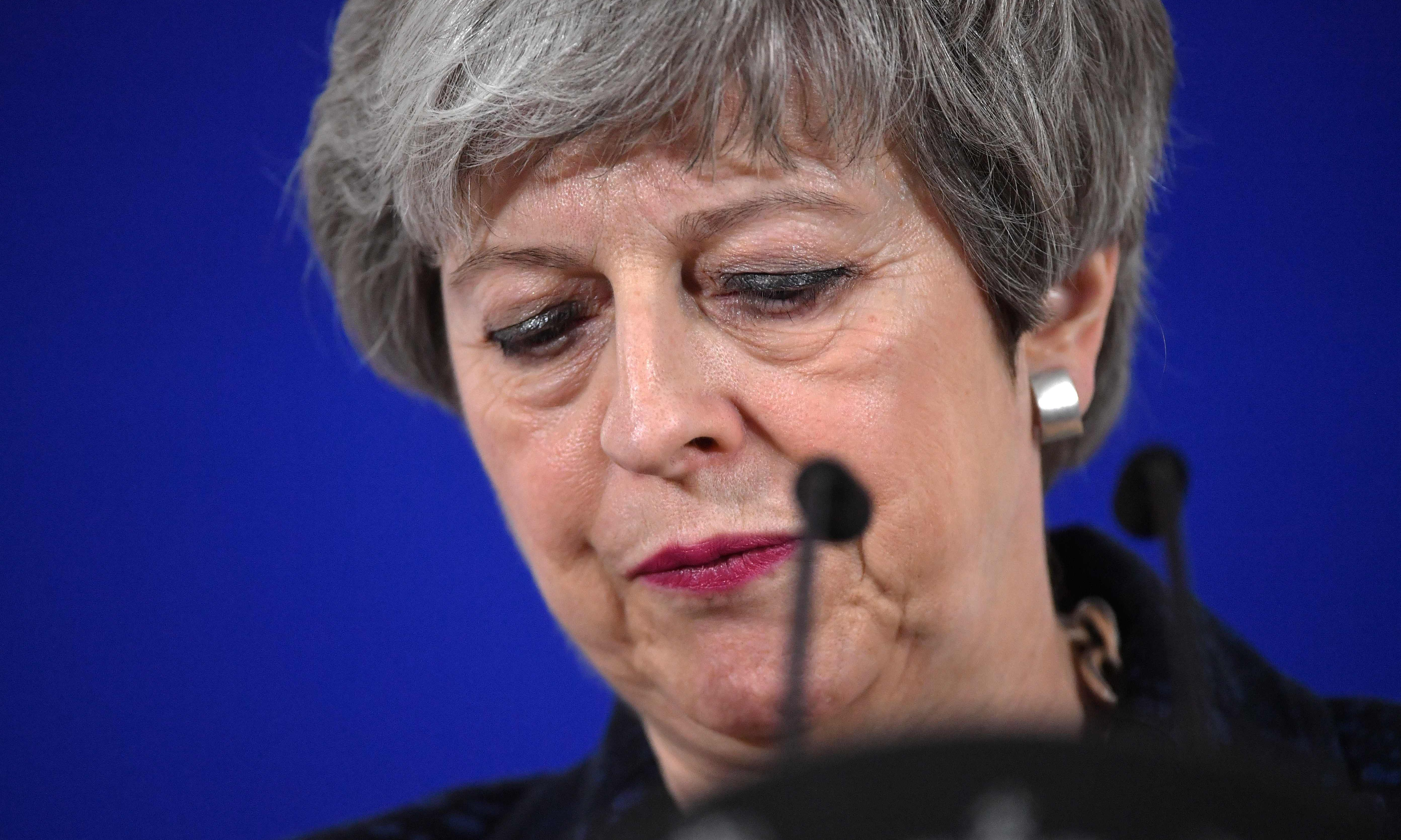 May's time is up. She must make way for a caretaker prime minister