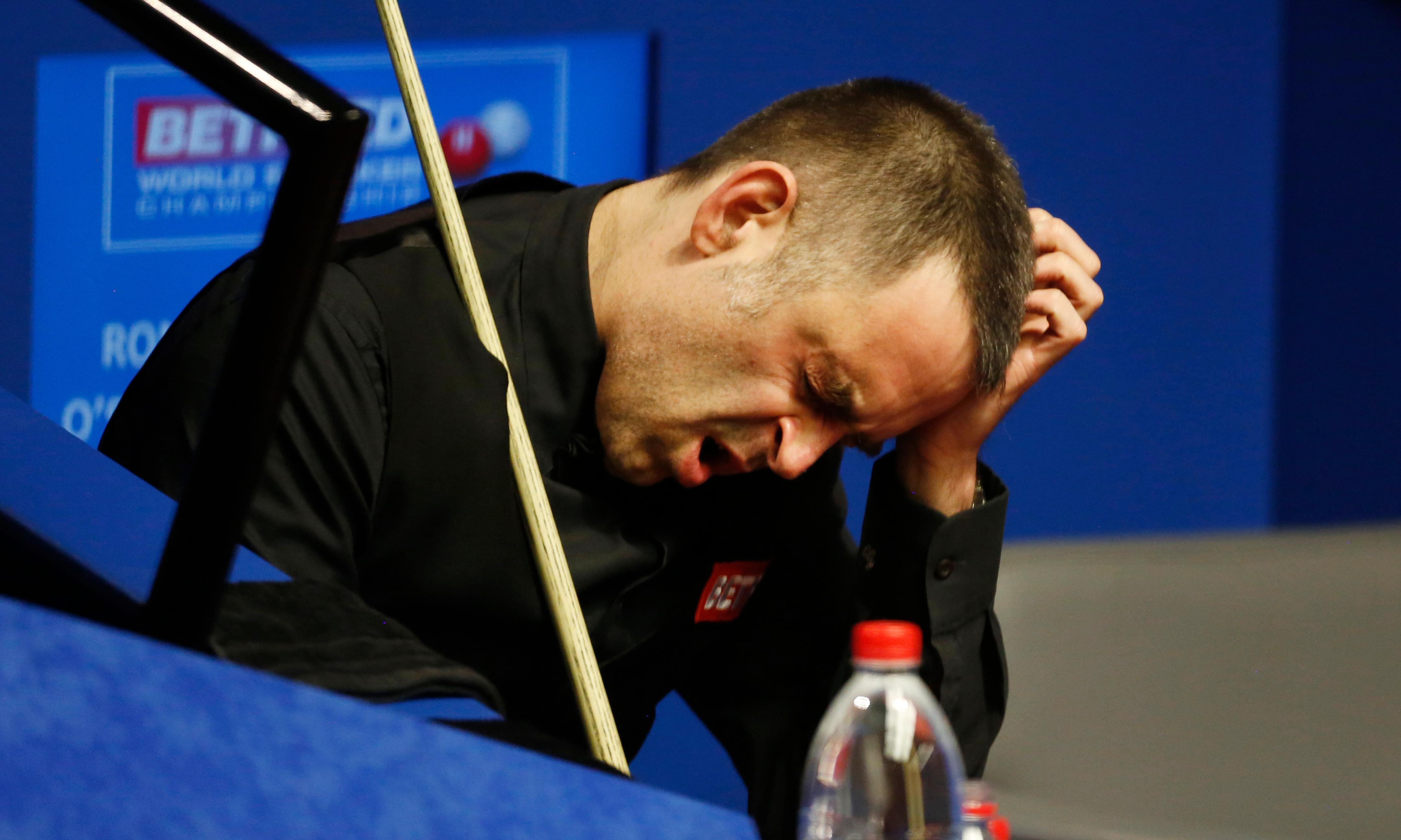 'Struggling to stay awake': O'Sullivan drained after Crucible defeat to amateur